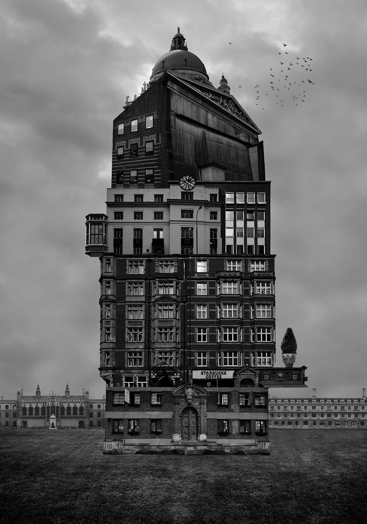 Beomsik Won,Archisculpture 008, 2012. Archival pigment print, 100x70 or 171x120cm.
