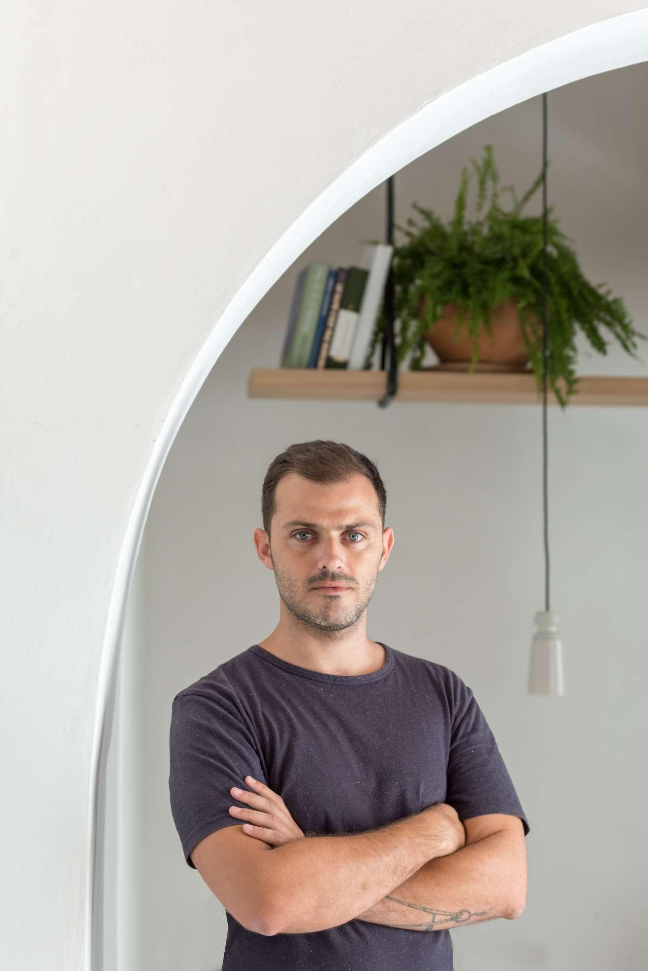 Stamos Hondrodimos, Interior Designer. Photo byGiorgos Sfakianakis.