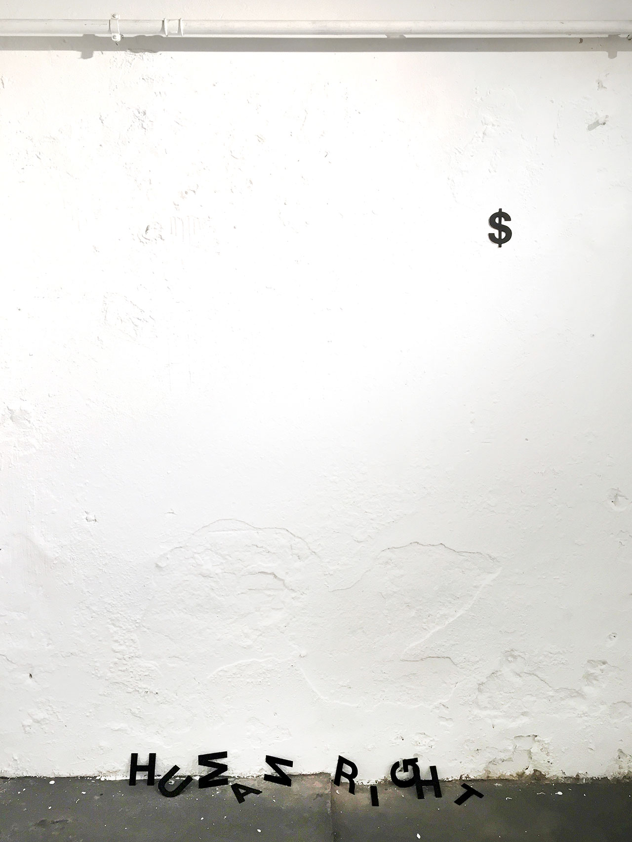 Anatol Knotek, human right$, text-installation© 2012-2016.