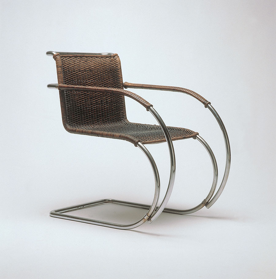 Ludwig Mies van der Rohe, arm chair MR 20/3, 1927, Collection Vitra Design Museum, © VG Bild-Kunst Bonn, 2015.