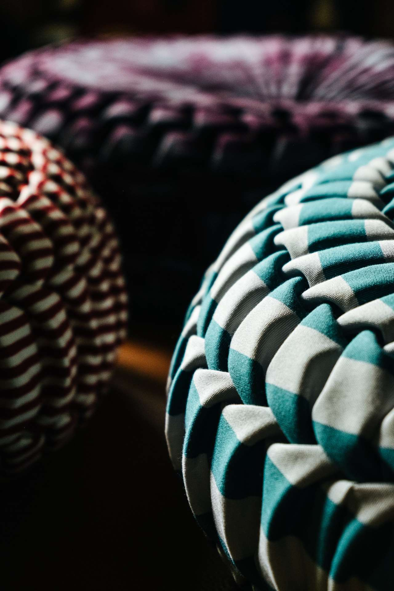 JPDEMEYER&CO's latest cushion & fabric collections presented at Palazzo Clerici during Milan Design Week 2019. © JPDEMEYER&CO.