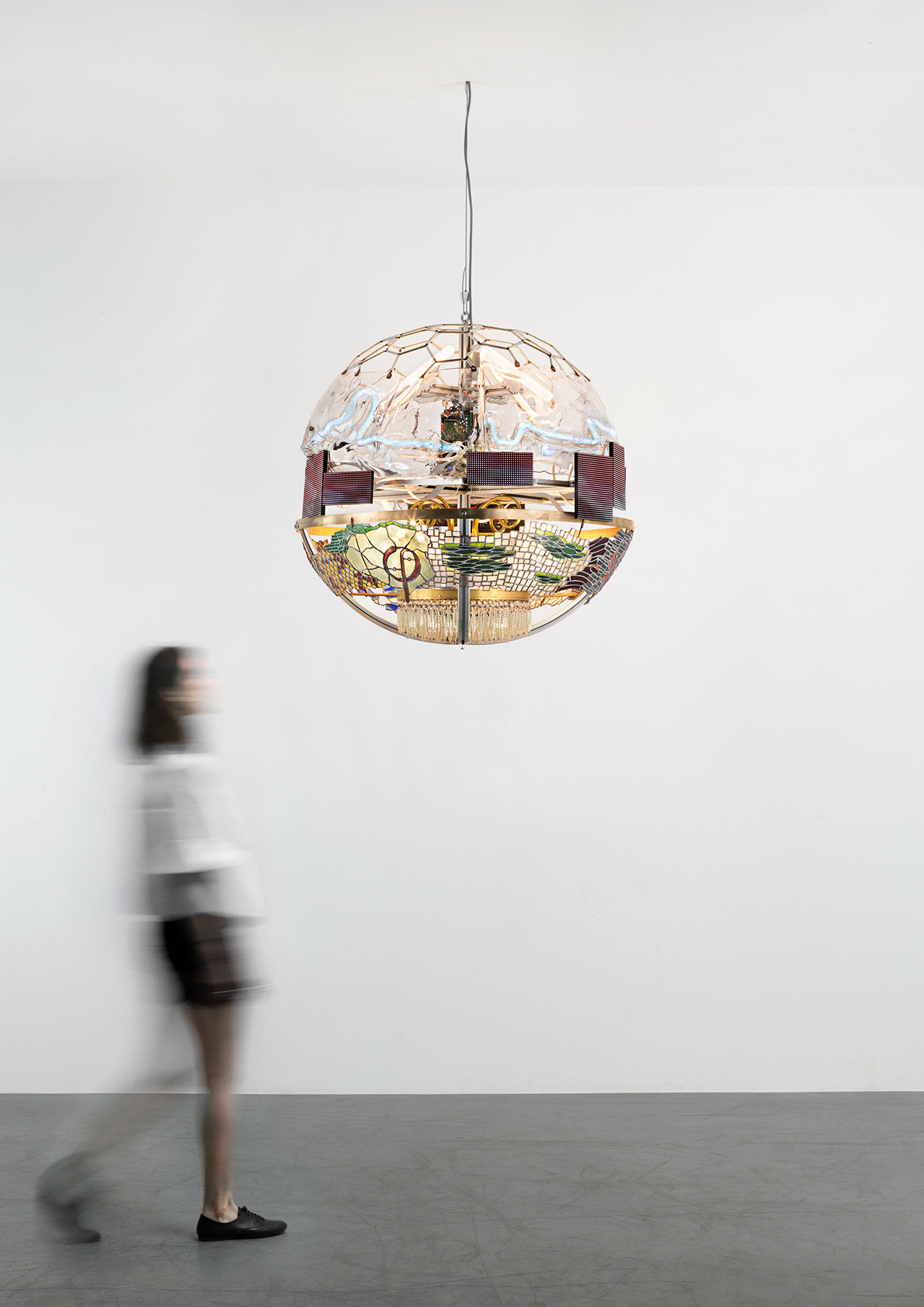 Kostas Lambridis, Elemental Chandelier. Photo courtesy Carpenters Workshop Gallery.