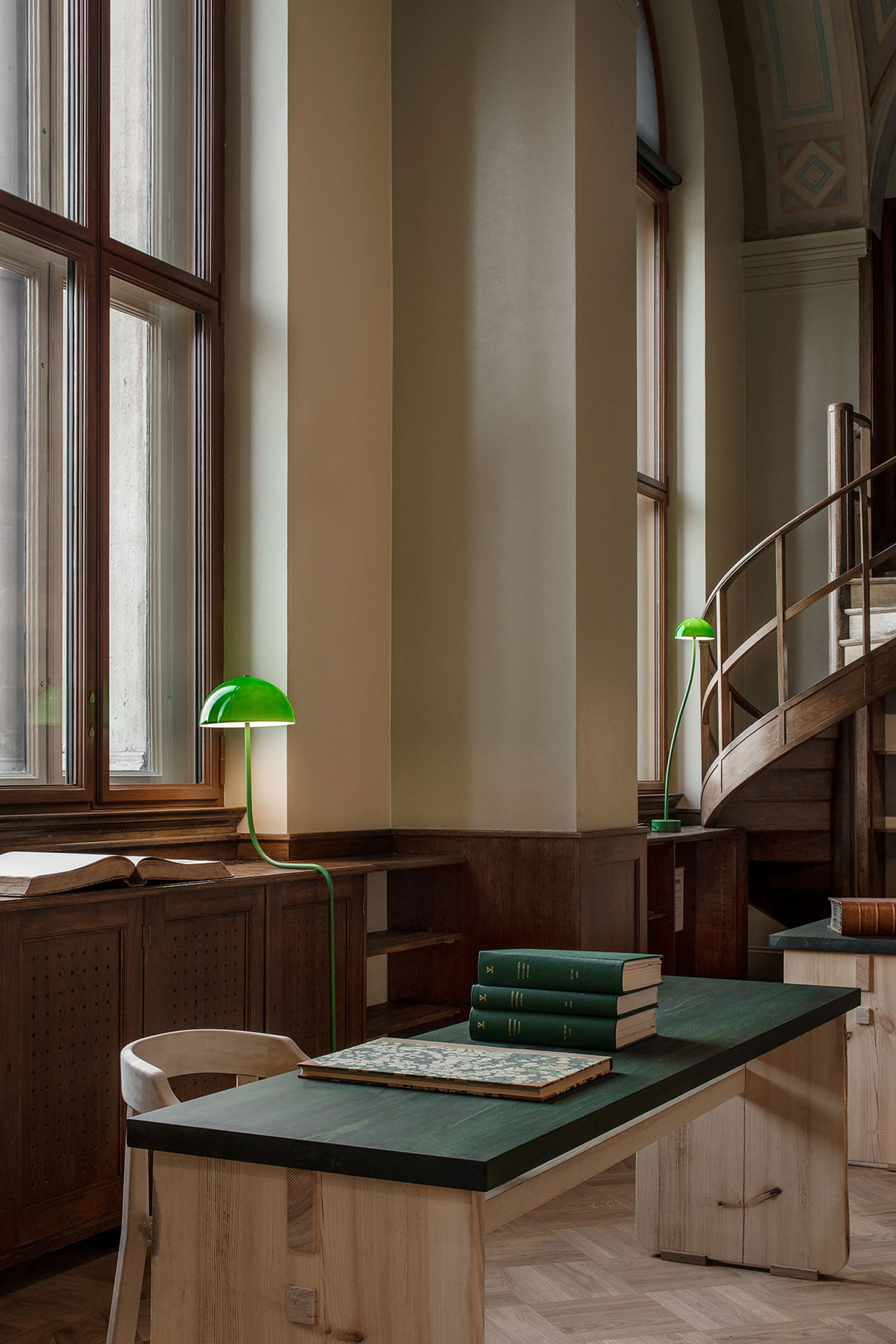 Library Lamp by Front design produced by Zero. Photo by Andy Liffner.
