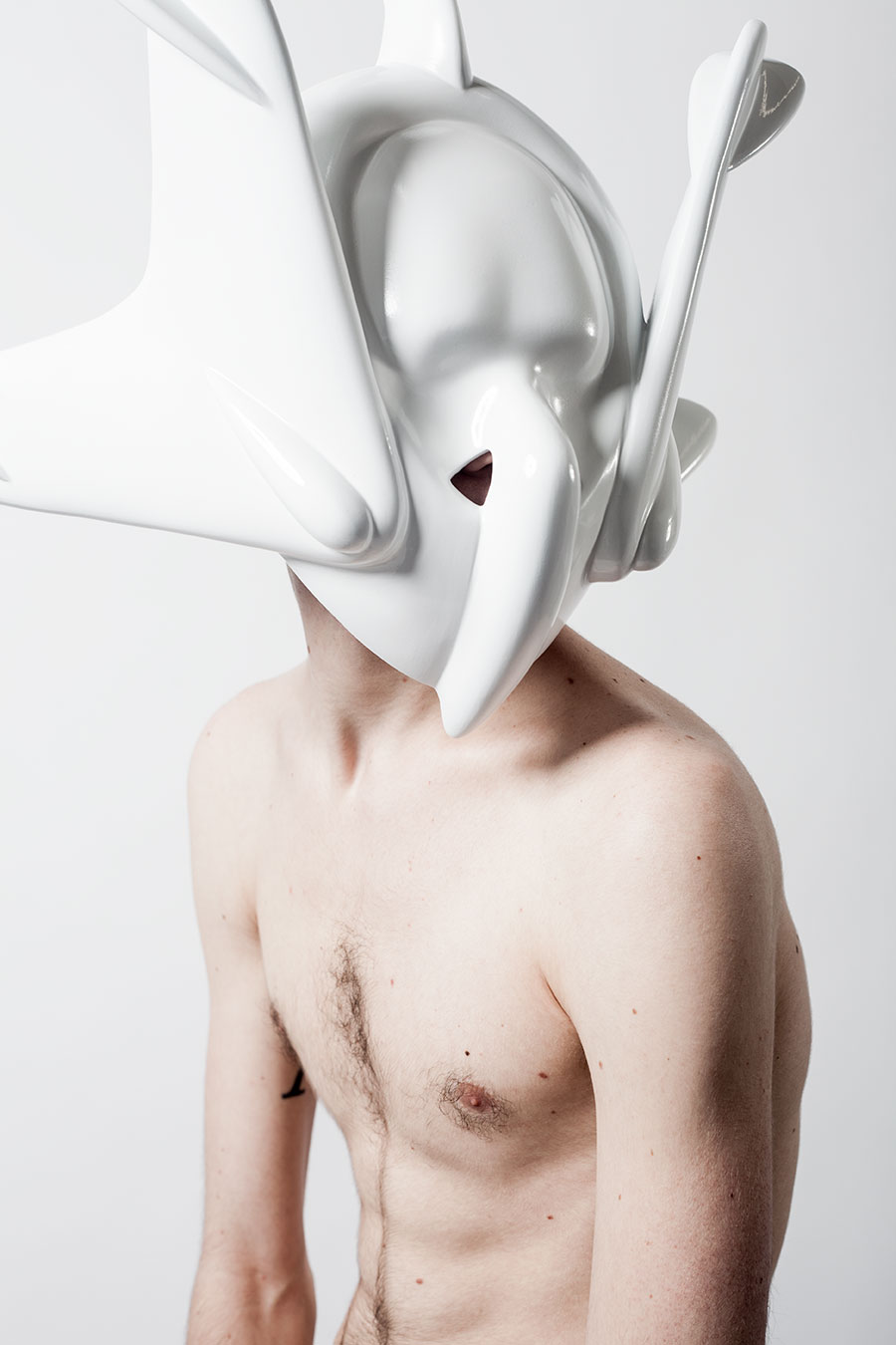 Headpiece by Rein Vollenga.Photography by Jonas Lindström, courtesy the artist.