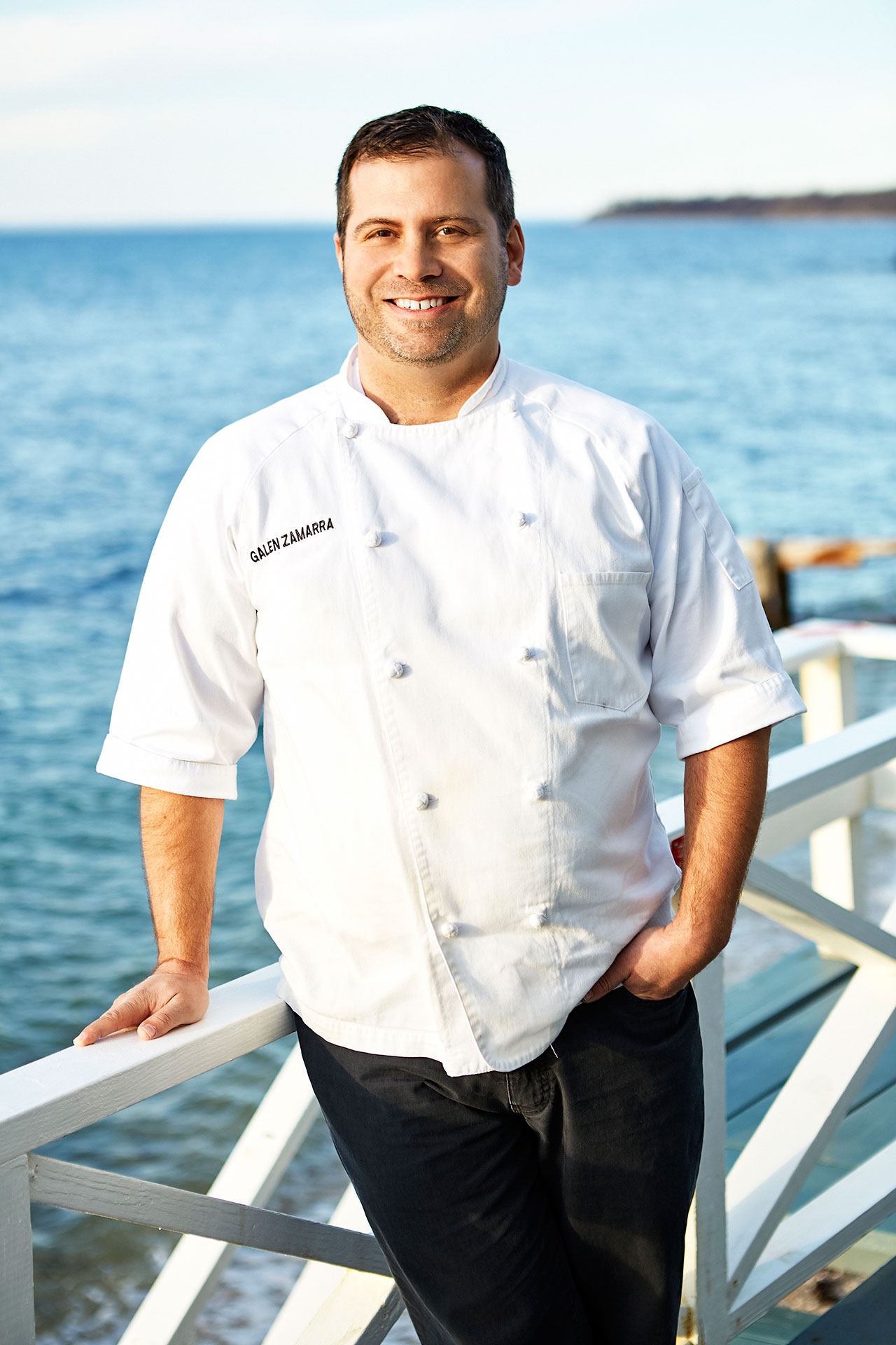 Chef Galen Zamarra. Photo by Paul Brissman.