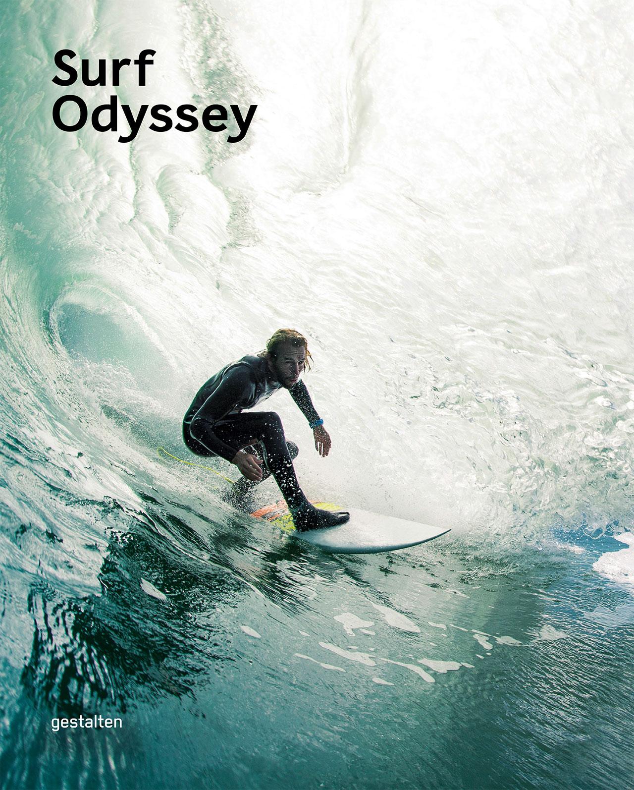 'Surf Odyssey'Book Cover©Gestalten2016.