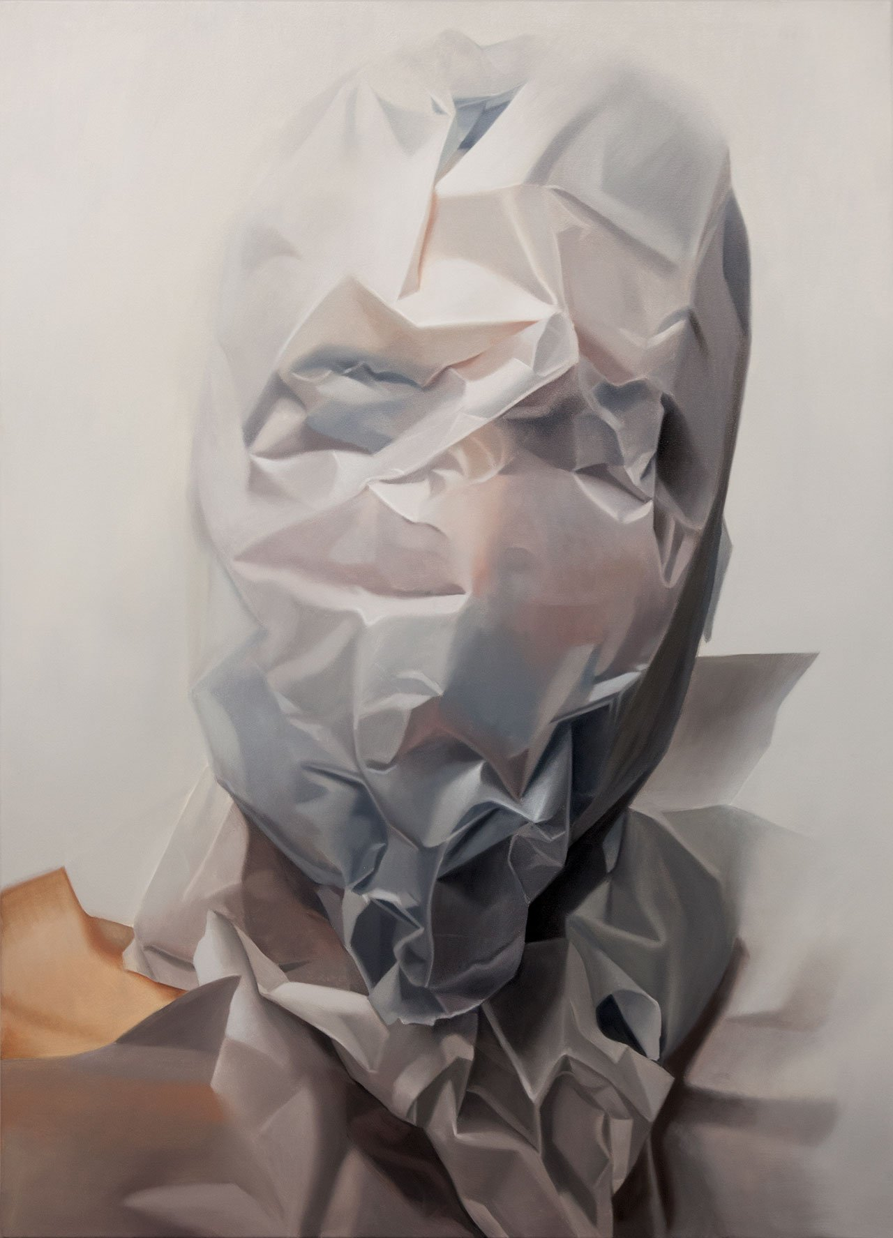 Mike Dargas,Invisible Kid, 2016, Oil on canvas, 140x100cm.