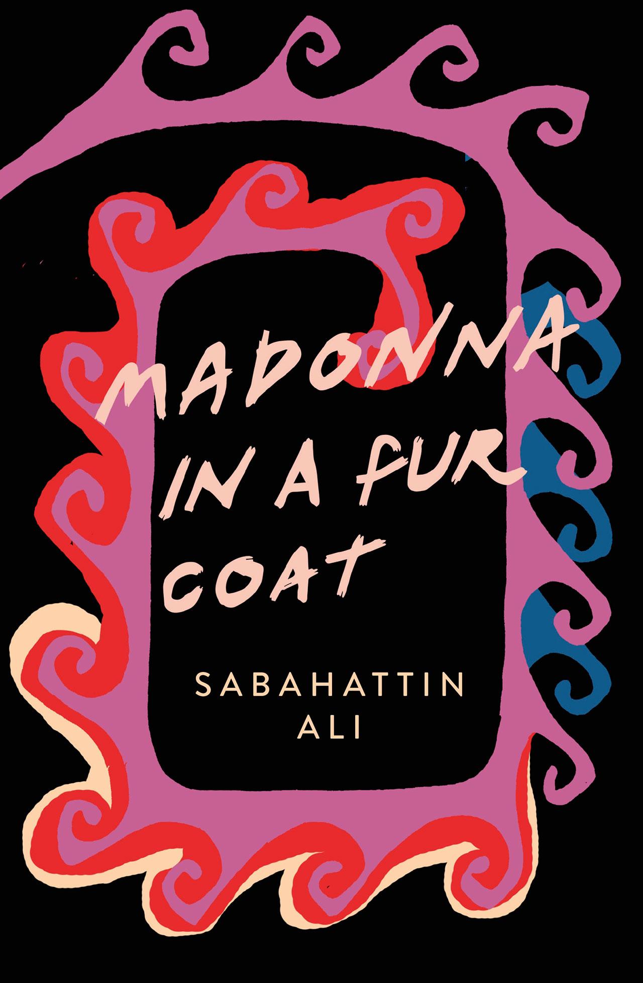 Sabahattin Ali, Madonna in a fur coat, book cover.