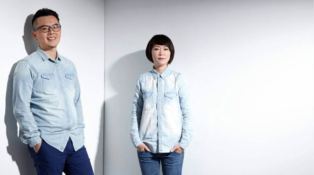 Shin-Jie Lin and Ting-Liang Chen portrait.Photo by Siew Shien Sam /MWphotoinc.