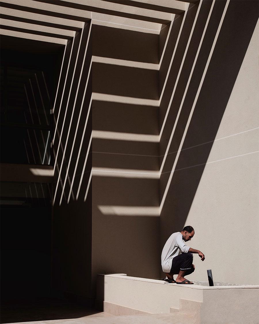 Shadows above,photo© Serge Najjar.