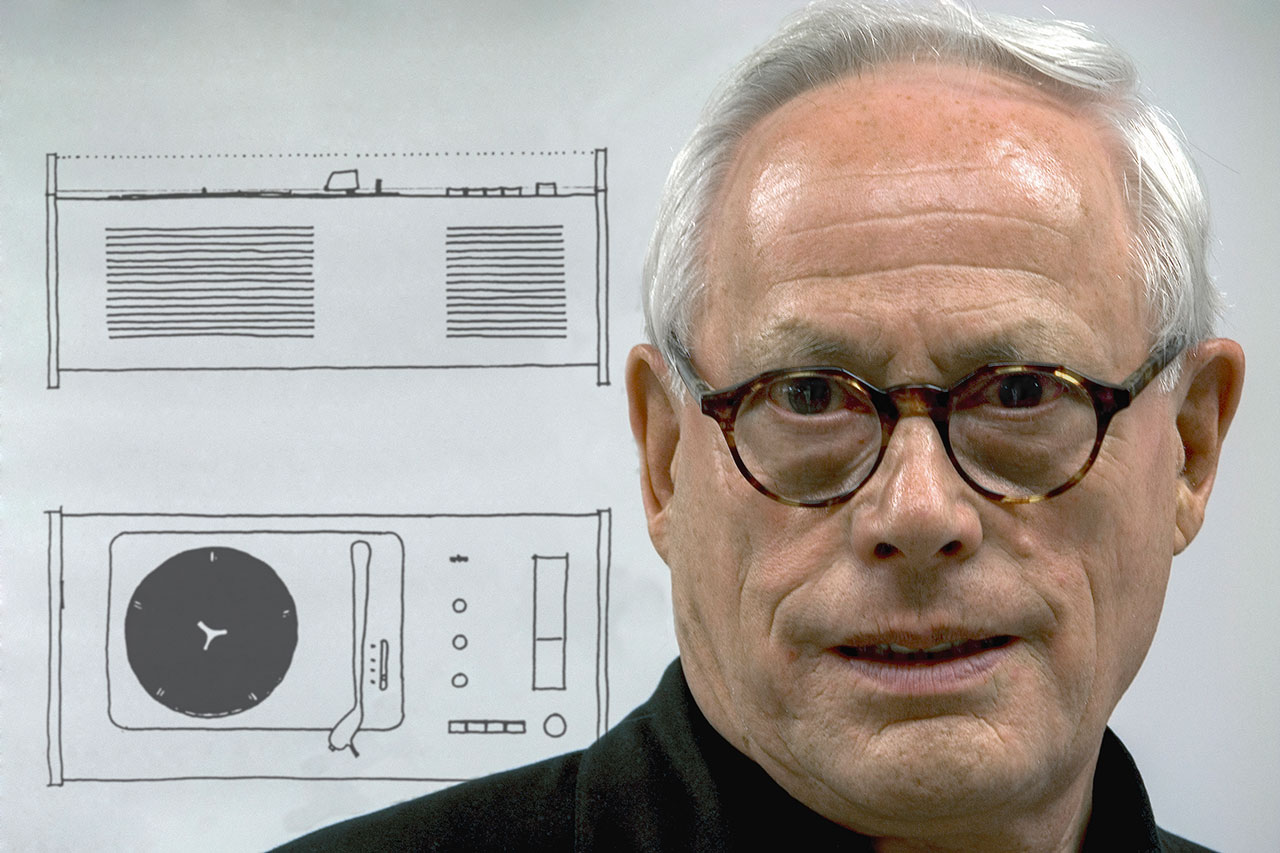 Dieter Rams portrait. Photo © Rams Archiv.