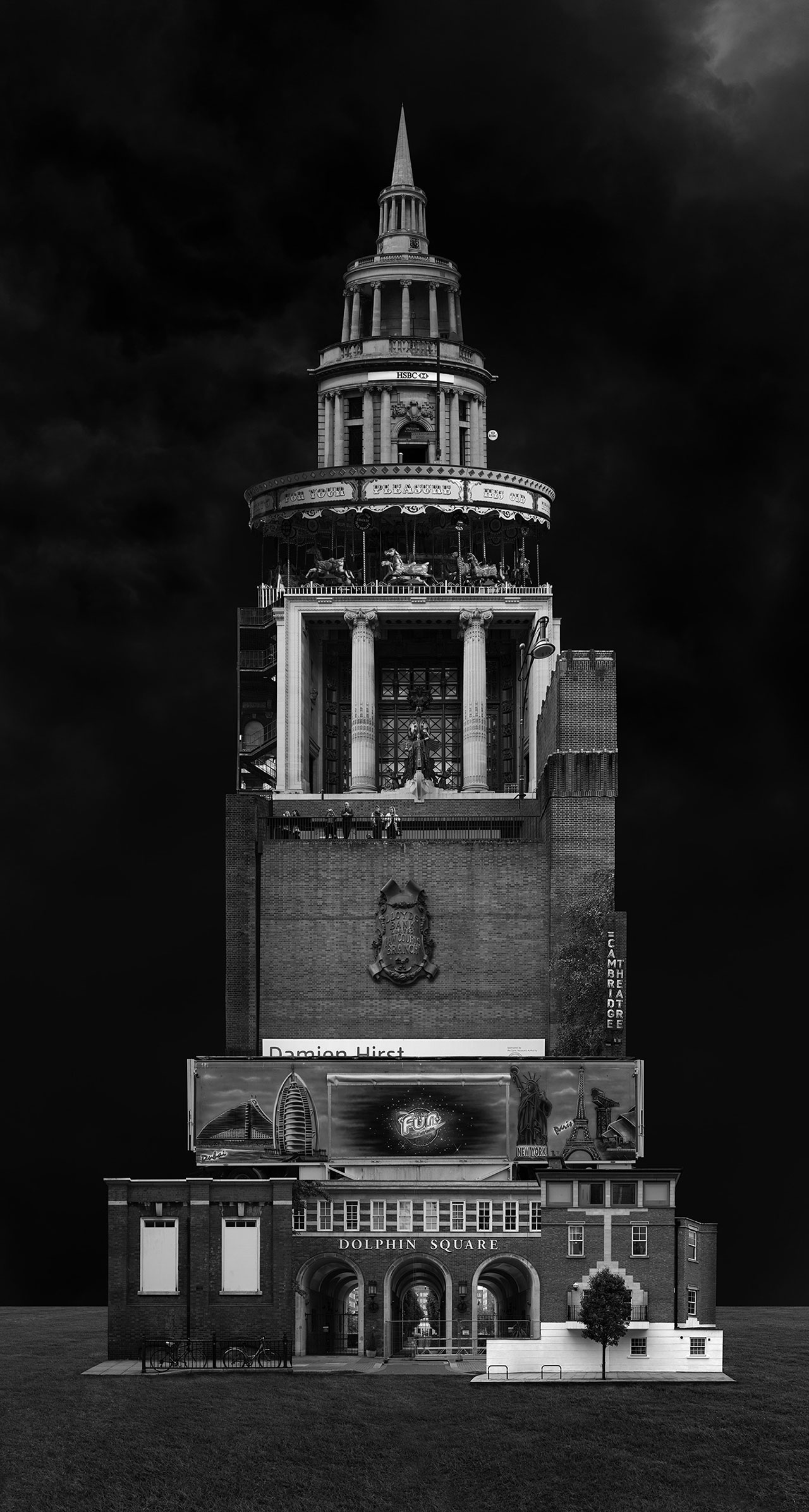 Beomsik Won,Archisculpture 012, 2012. Archival pigment print, 100x53 or 171x91cm.
