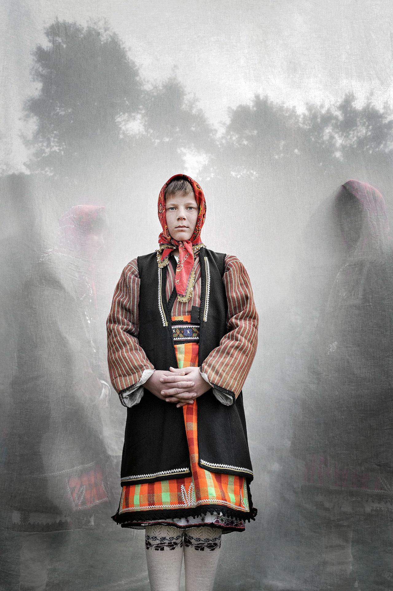 Faces + Masks series. Location: Monastiraki, Drama Prefecture, Greece. Photo © Nikos Vavdinoudis.