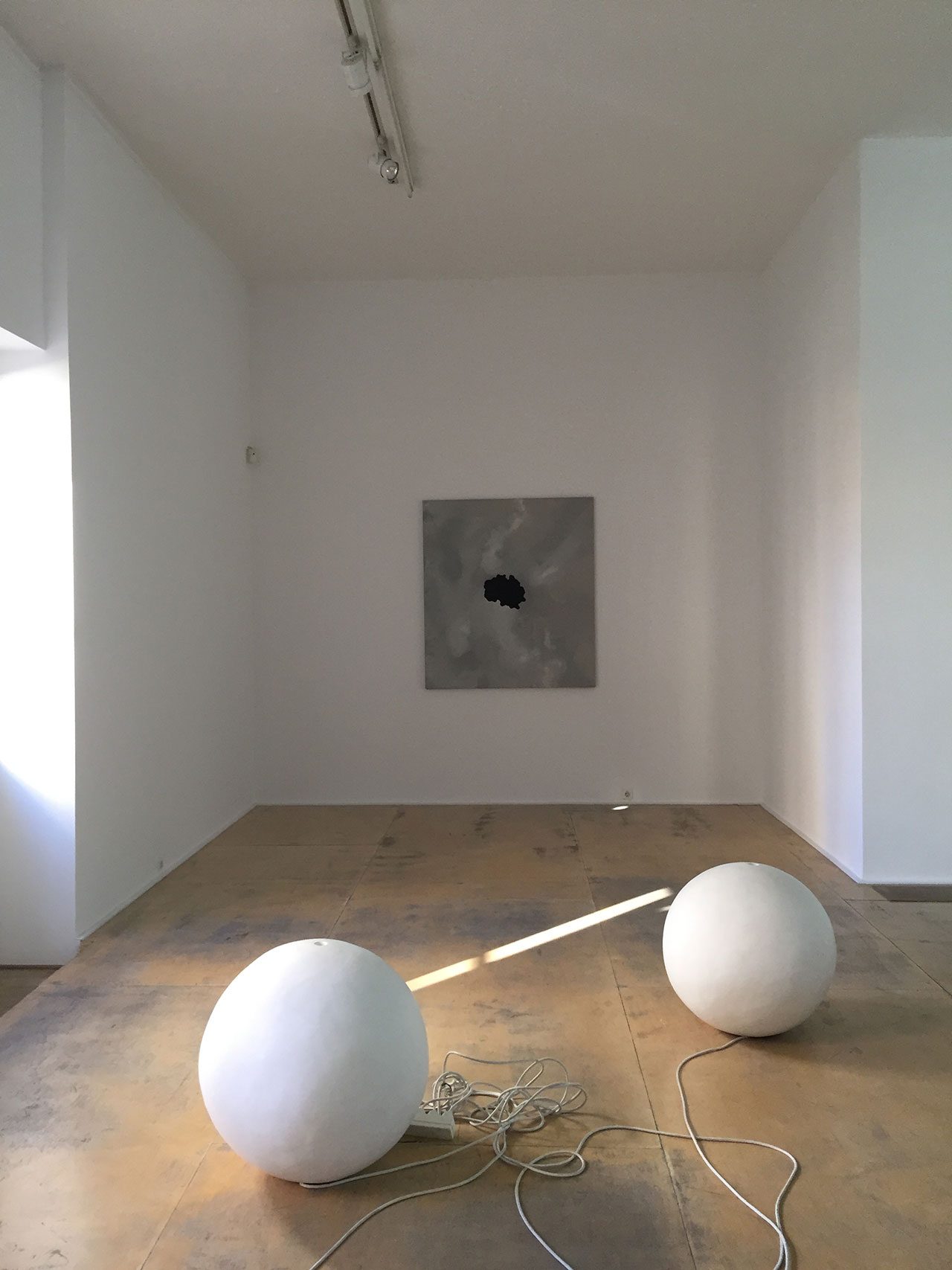 Installation view at Rebecca Camhi gallery. Photo by Kiriakos Spirou.