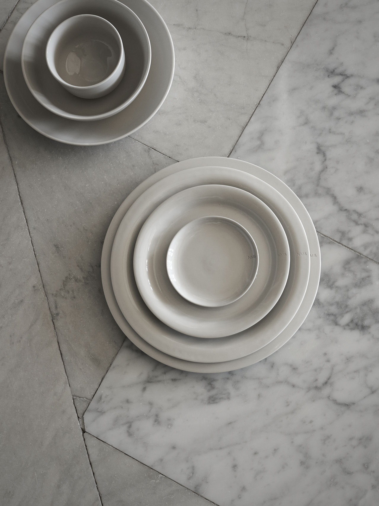 """NM& 062:""""Sand"""" tablewareby Carina Seth Anderssonproduced by Design House Stockholm. Photo by Pia Ulin."""