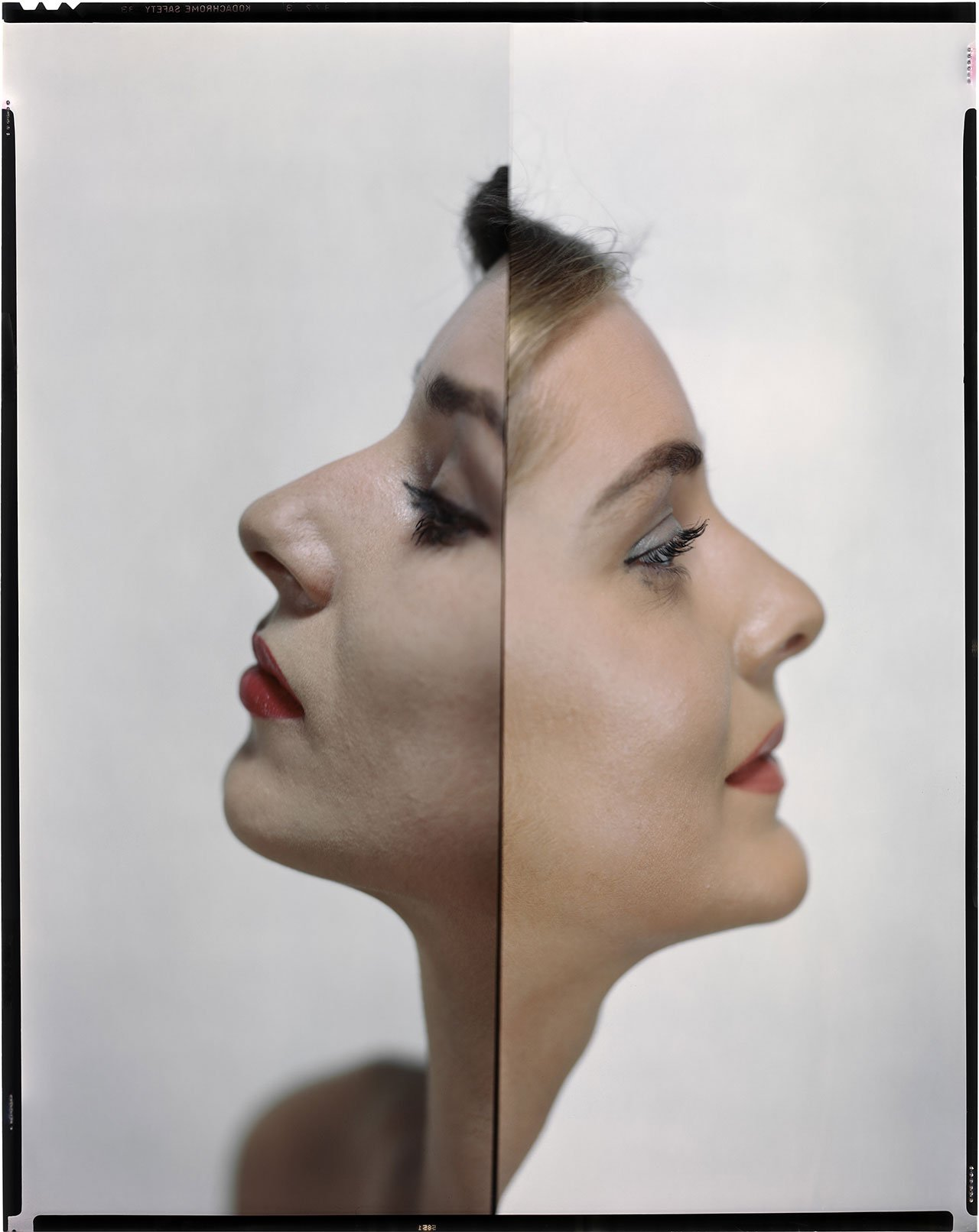 Variant picture for Vogue US from 1st May, 1947 © The Estate of Erwin Blumenfeld.
