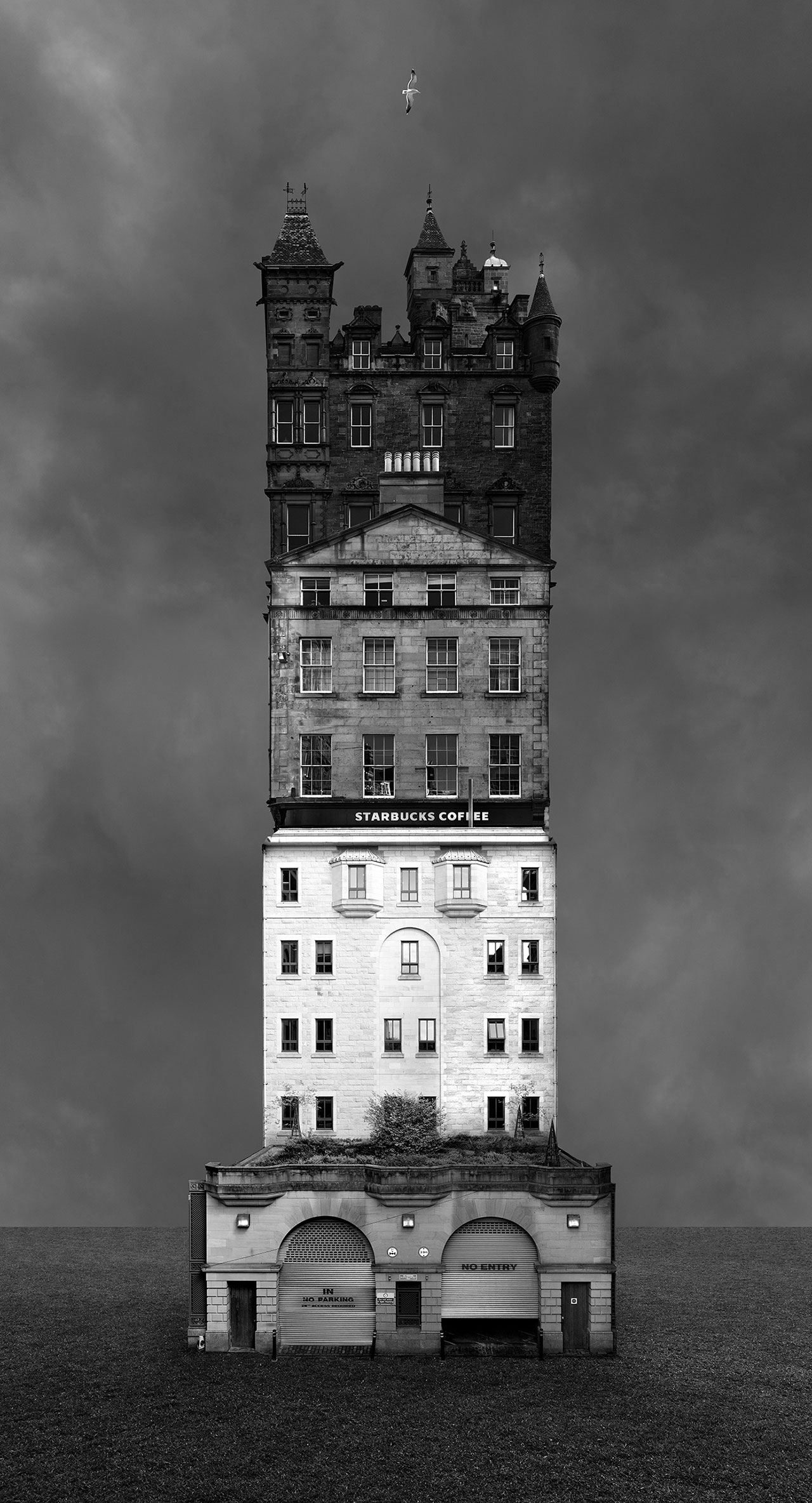 Beomsik Won,Archisculpture 014, 2013. Archival pigment print, 46x25 or 135x73cm.