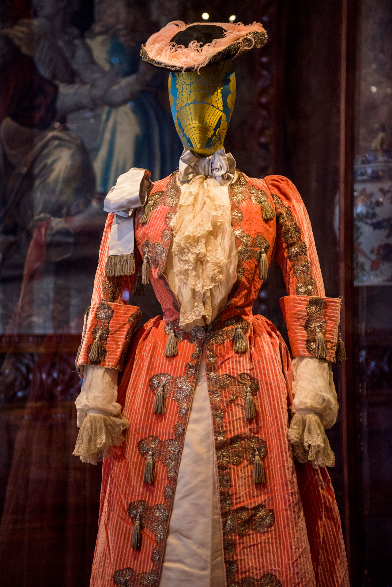 Lady Isobel Stanley's costume for the 1897 Devonshire House Ball by Jean-Philippe Worth for the House of Worth. Photo courtesy Chatsworth House Trust.
