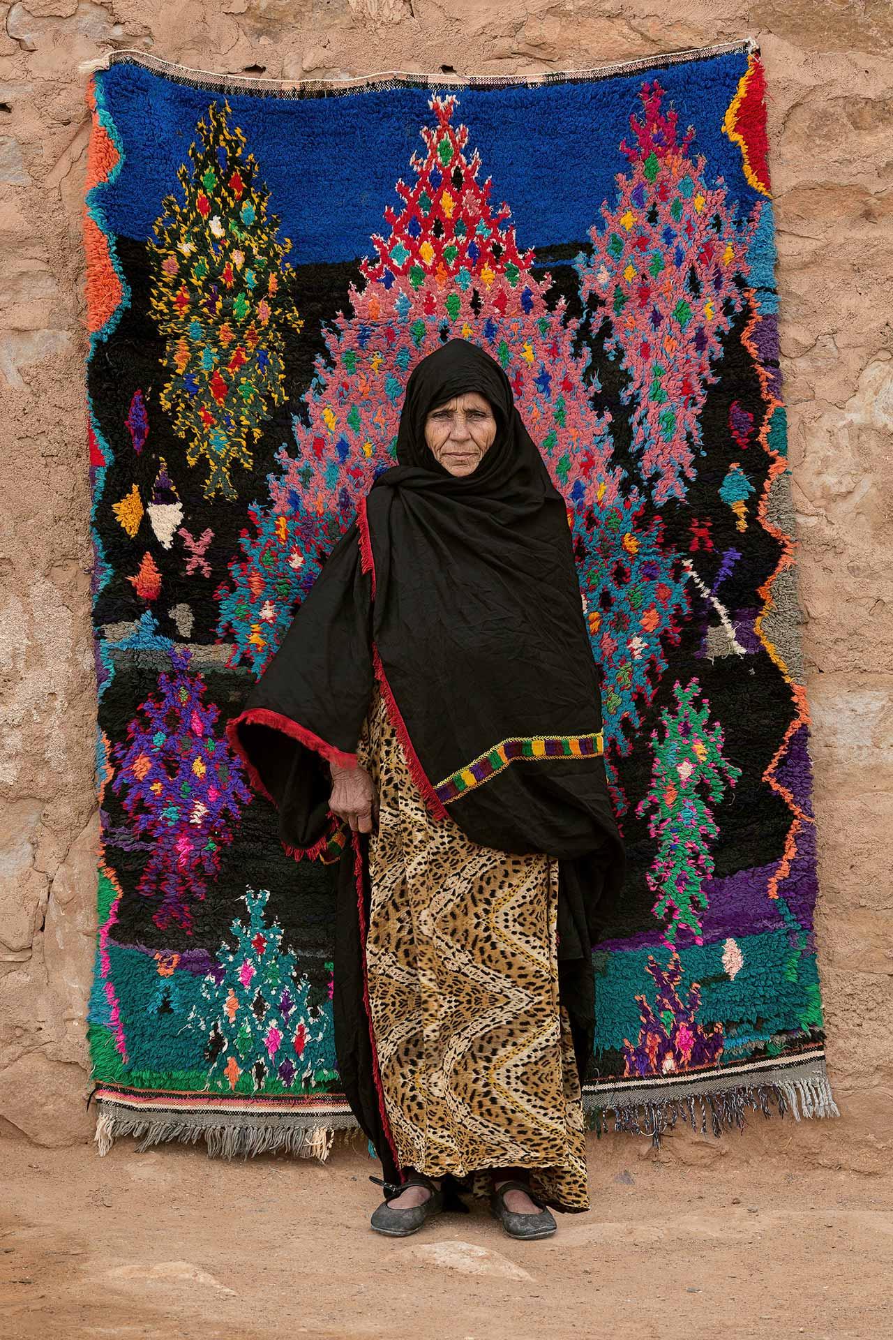Fatima Oumharch, 2012-2013. Photo © Serge Anton.