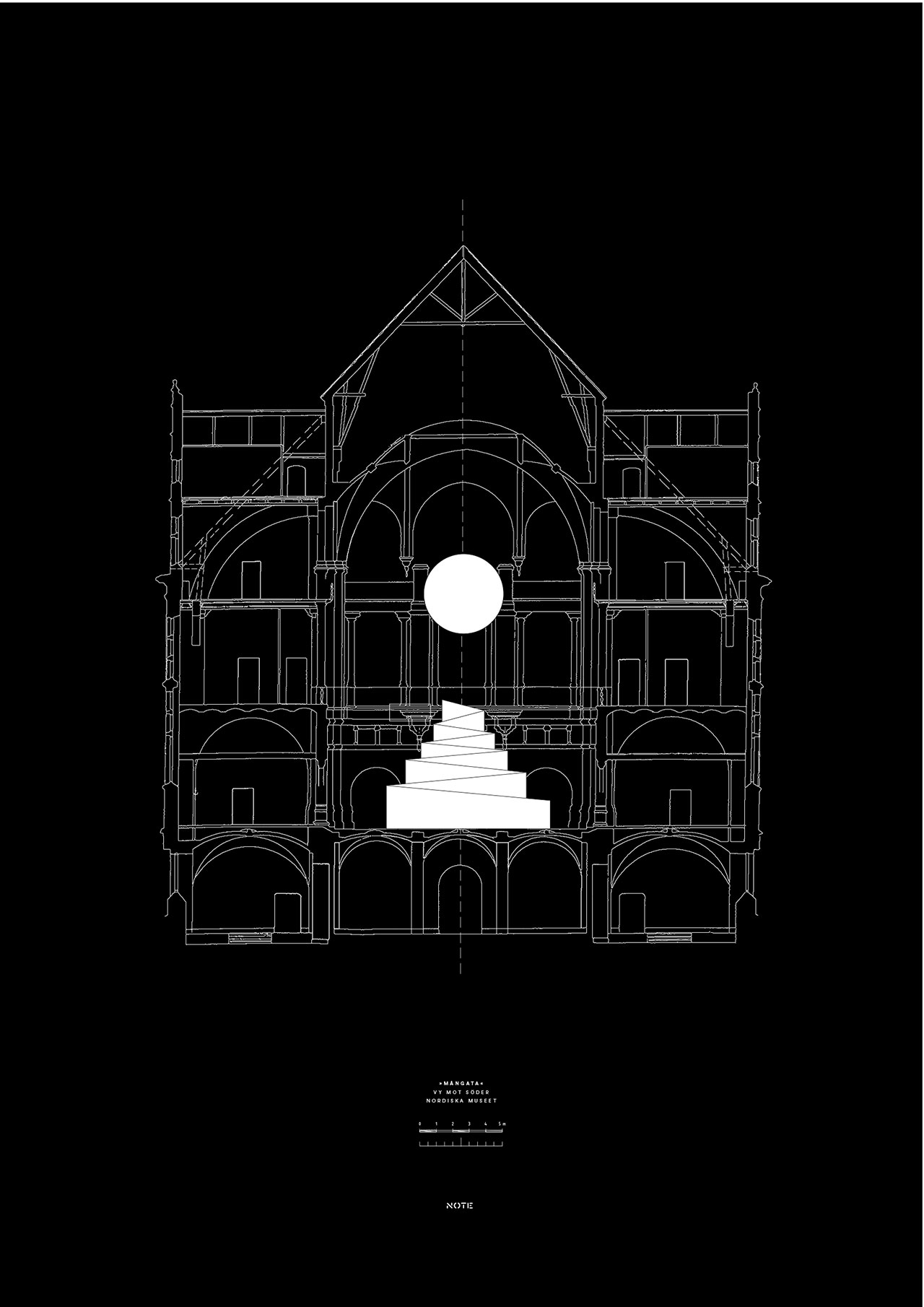 South view - Moon. © Note design studio.