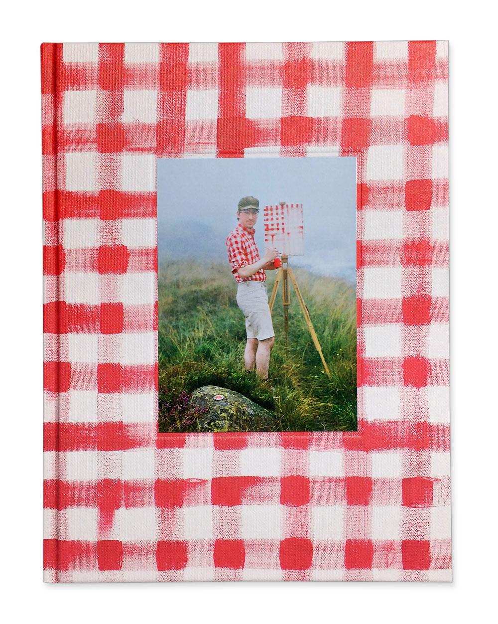 Hank Schmidt in der Beek, Fabian Schubert /Und im Sommer tu ich malen, book cover.© 2016 Edition Taube,Hank Schmidt in der Beek, Fabian Schubert.