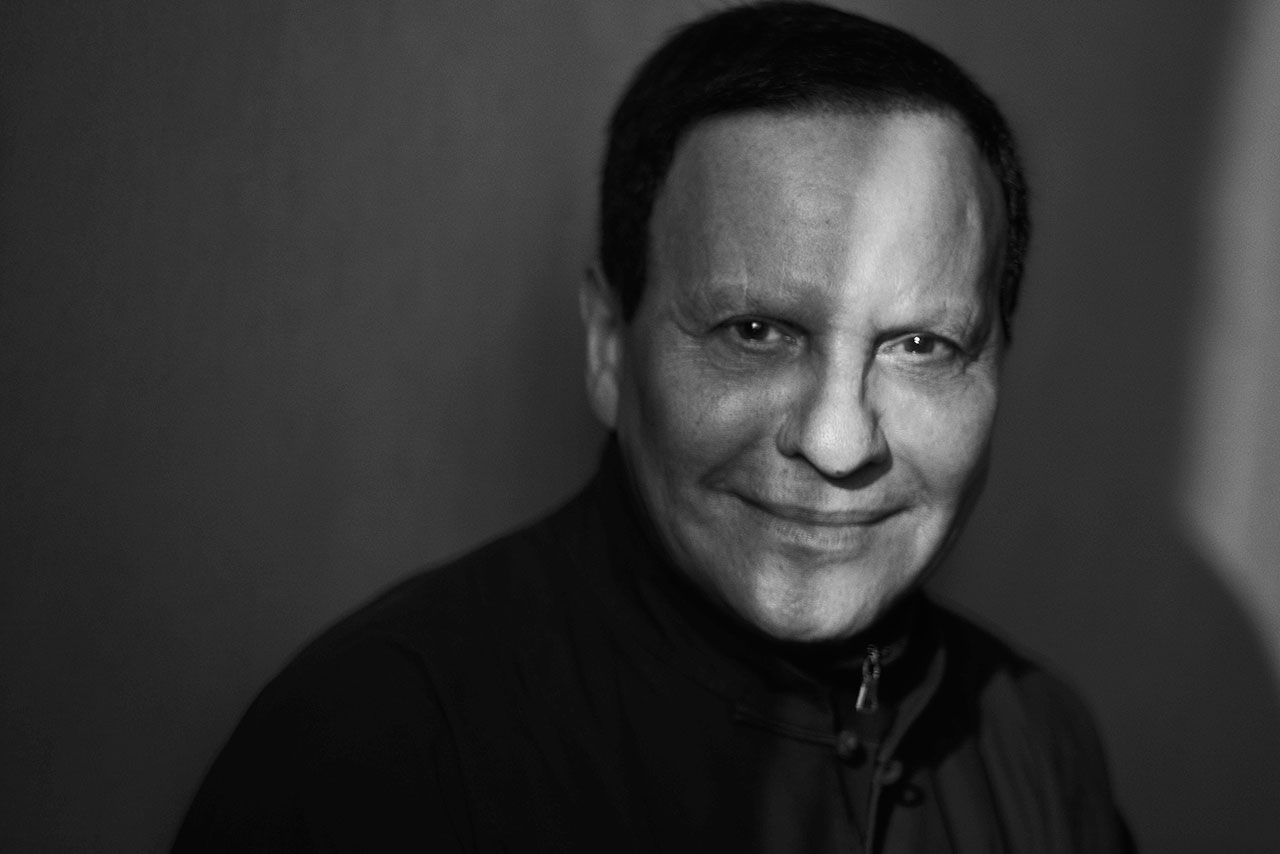 Azzedine Alaïa portrait. Photo by Peter Lindbergh.