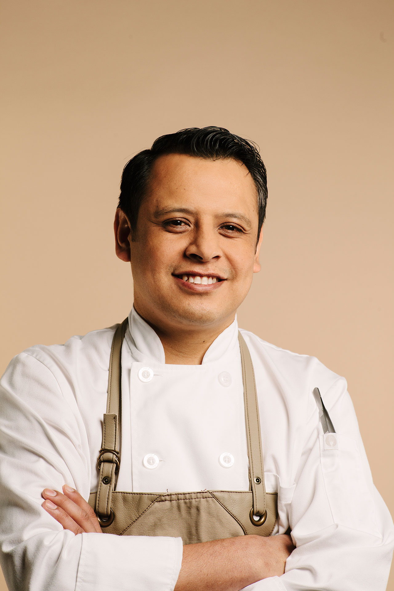 Hector Laguna, Executive Chef. Photo by Grady Mitchell via v2com.