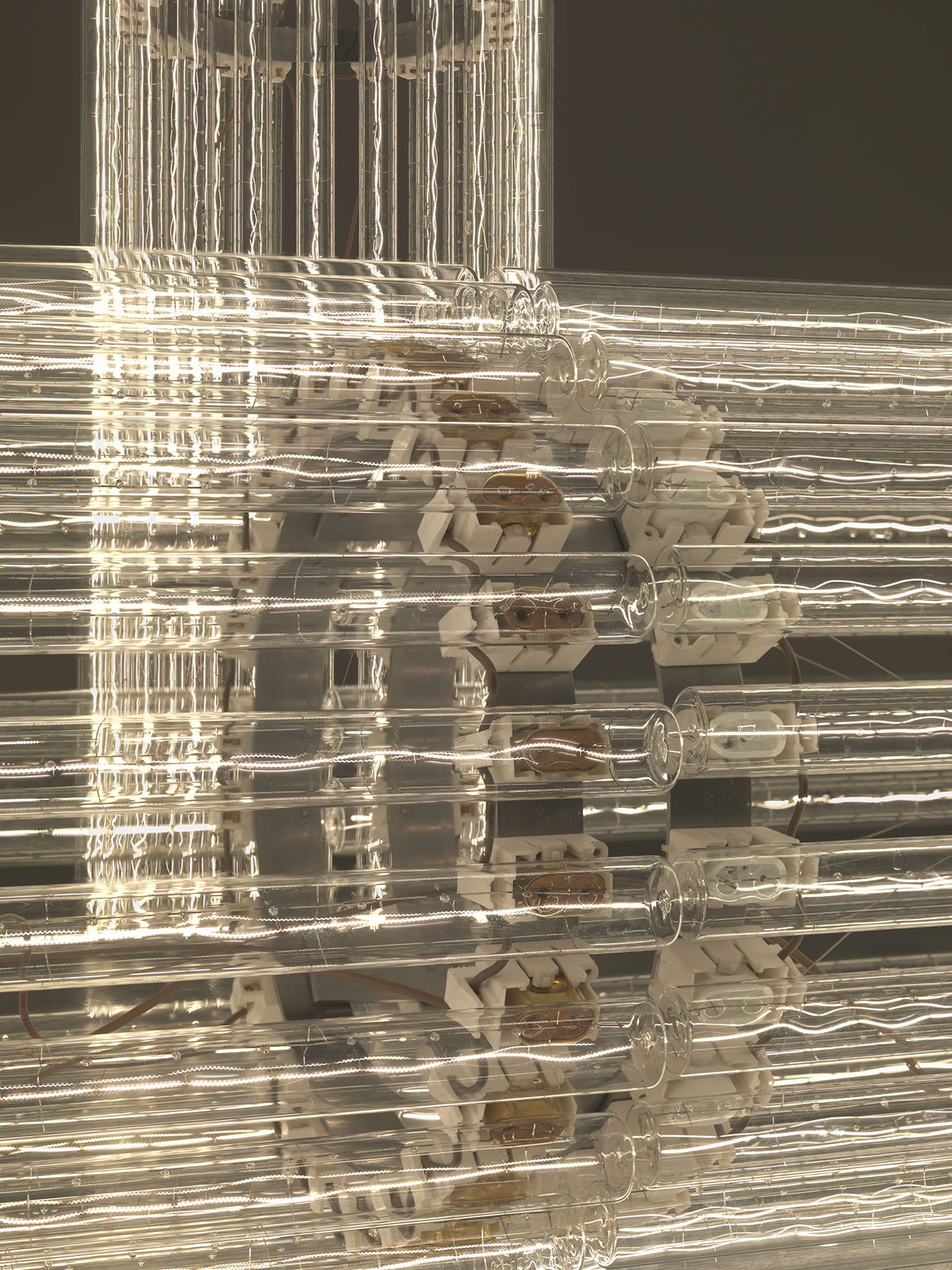 Cerith Wyn Evans, Column (Assemblages) VIII, 2010 (detail) © Cerith Wyn Evans. Courtesy White Cube. Photo: Todd-White Art Photography.