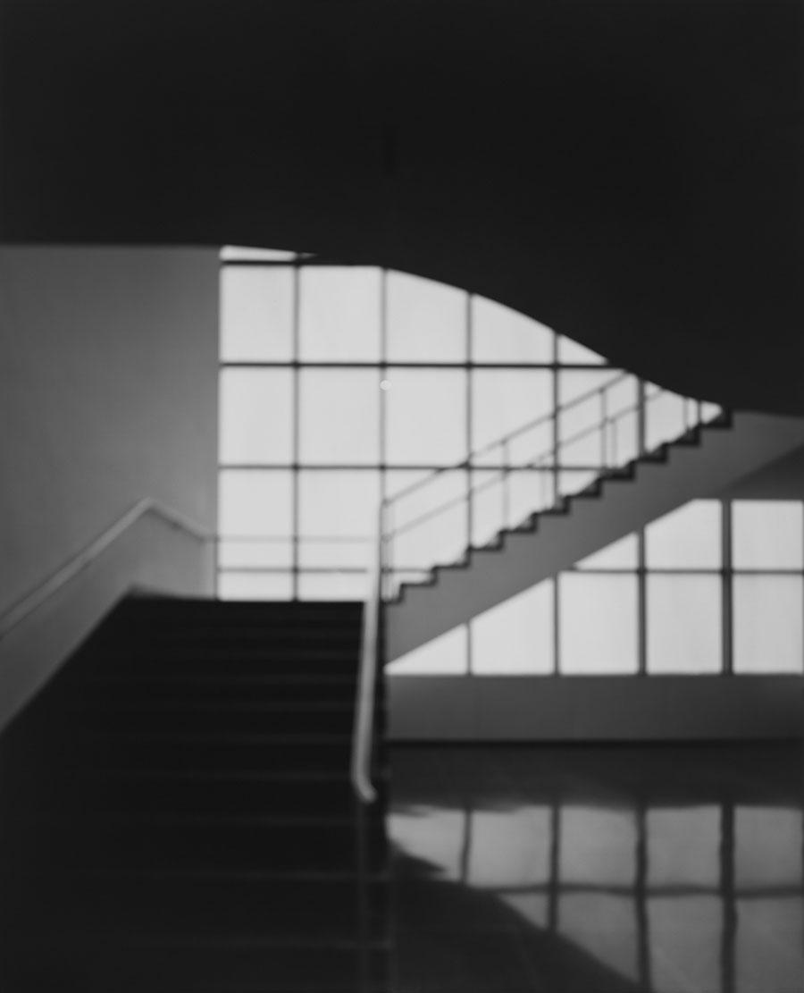 Hiroshi Sugimoto, MoMA, Bauhaus Stairway,2013,Gelatine Silver Print, 61 x 50,8 cm, © Hiroshi Sugimoto,courtesy Pace Gallery