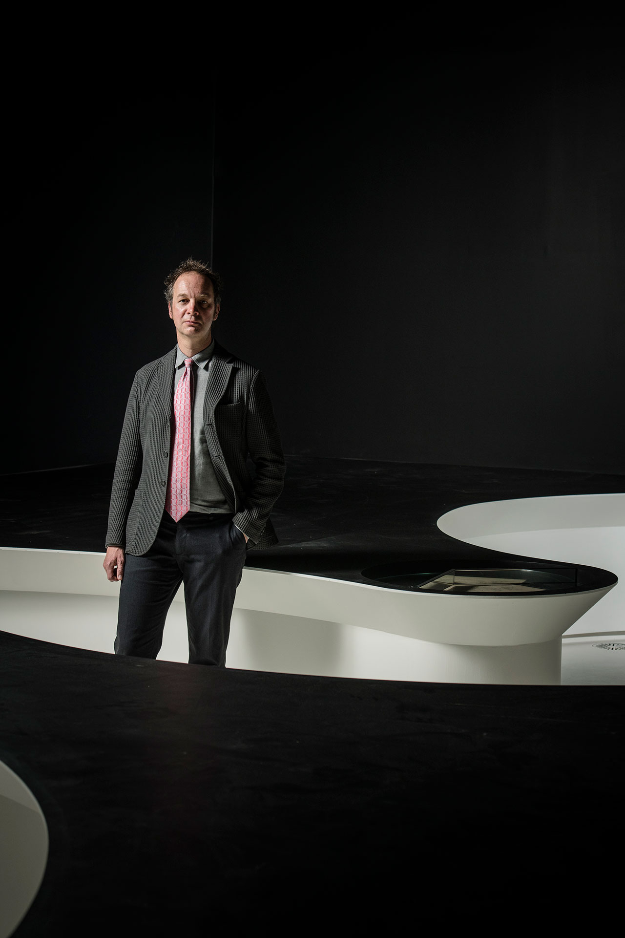 Benno Tempel, Director of theGemeentemuseum Den Haag. Photo by Eugene Hyland.
