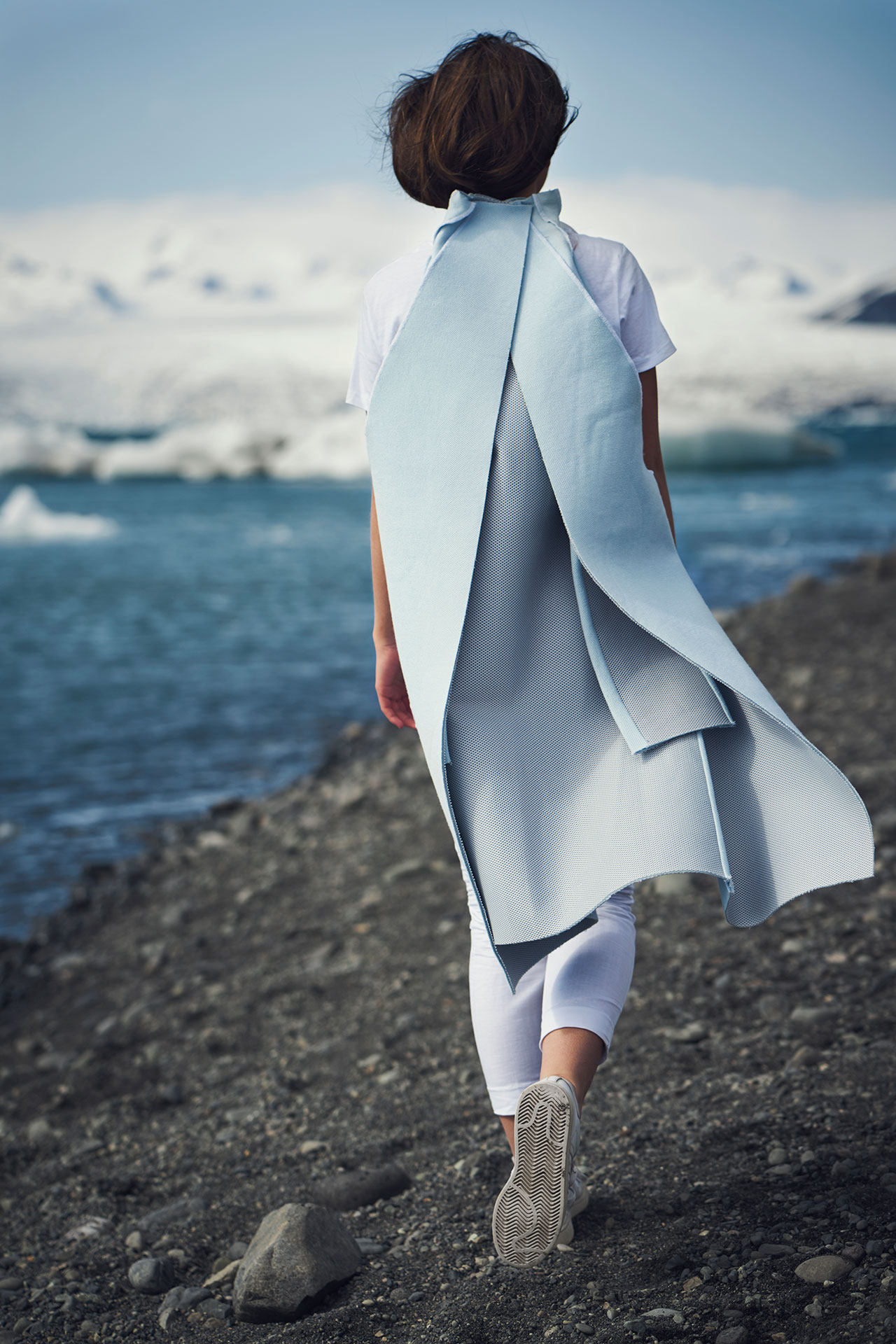 Félicie Eymard, Chrysalid Coat, from Metamorphosis Collection. Photo by Julien Hayard.