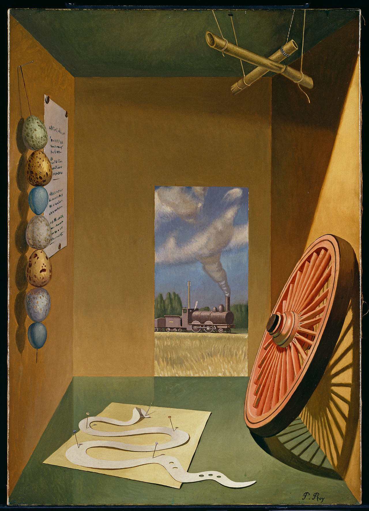 Pierre Roy, A Naturalist's Study, 1928. Oil on canvas, 92,1 x 65,4 cm. Tate Modern, London © Tate, London 2017 © Pierre Roy by SIAE 2018.
