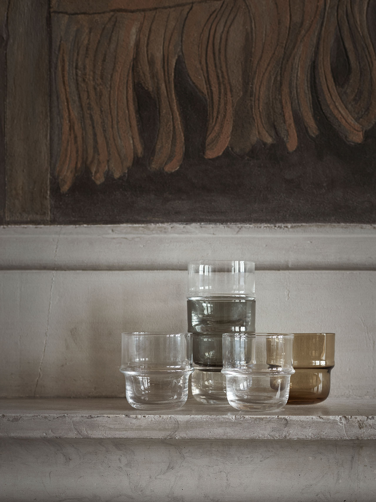 """NM& 063:Everyday glasses """"Unda"""" by Matti Klenellproduced by Design House Stockholm. Photo by Pia Ulin."""