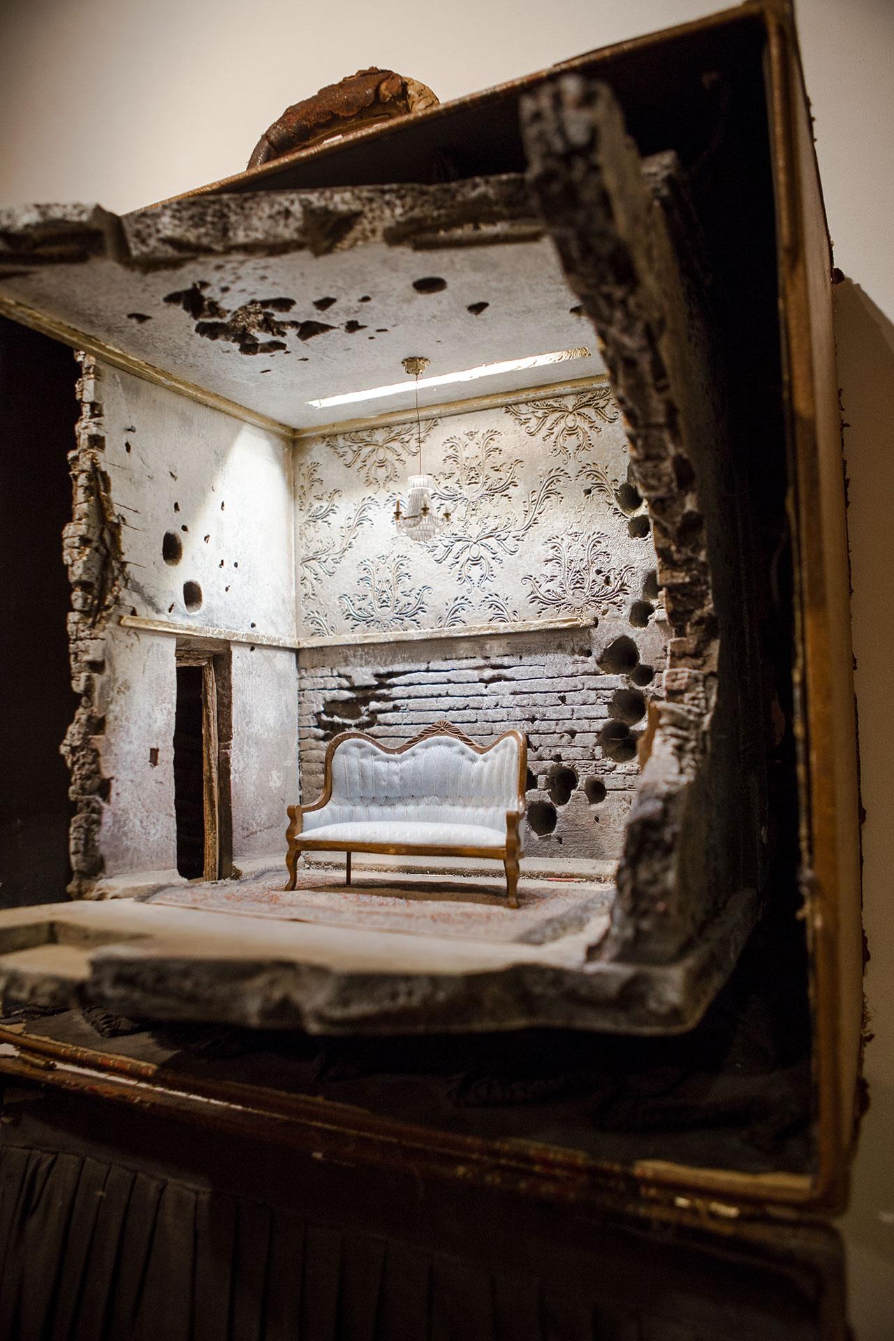 MOHAMAD: A Regal Living Room.Photo by Anisha Sisodia.