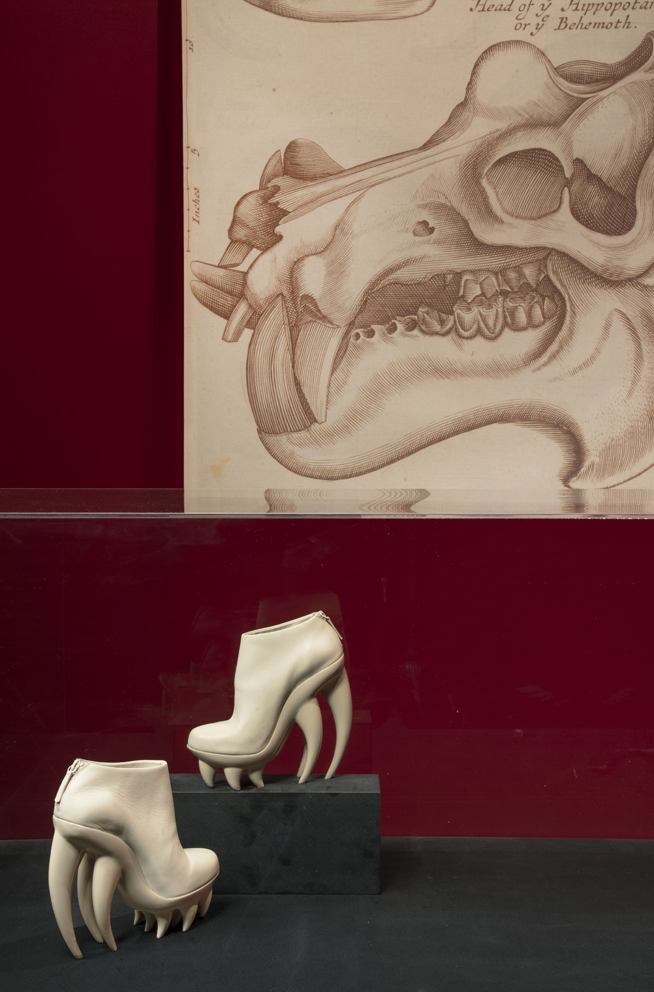 "Iris van Herpen ""Fang"" shoes. Spring/Summer 2012 Couture. Photo © Antonio Quattrone."
