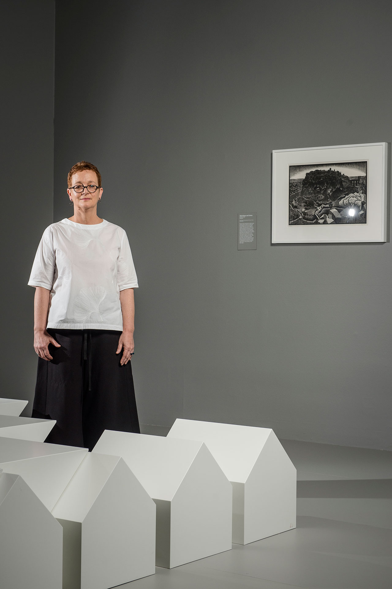 Cathy Leahy, Senior Curator, Prints and Drawings, National Gallery of Victoria. Photo by Eugene Hyland.