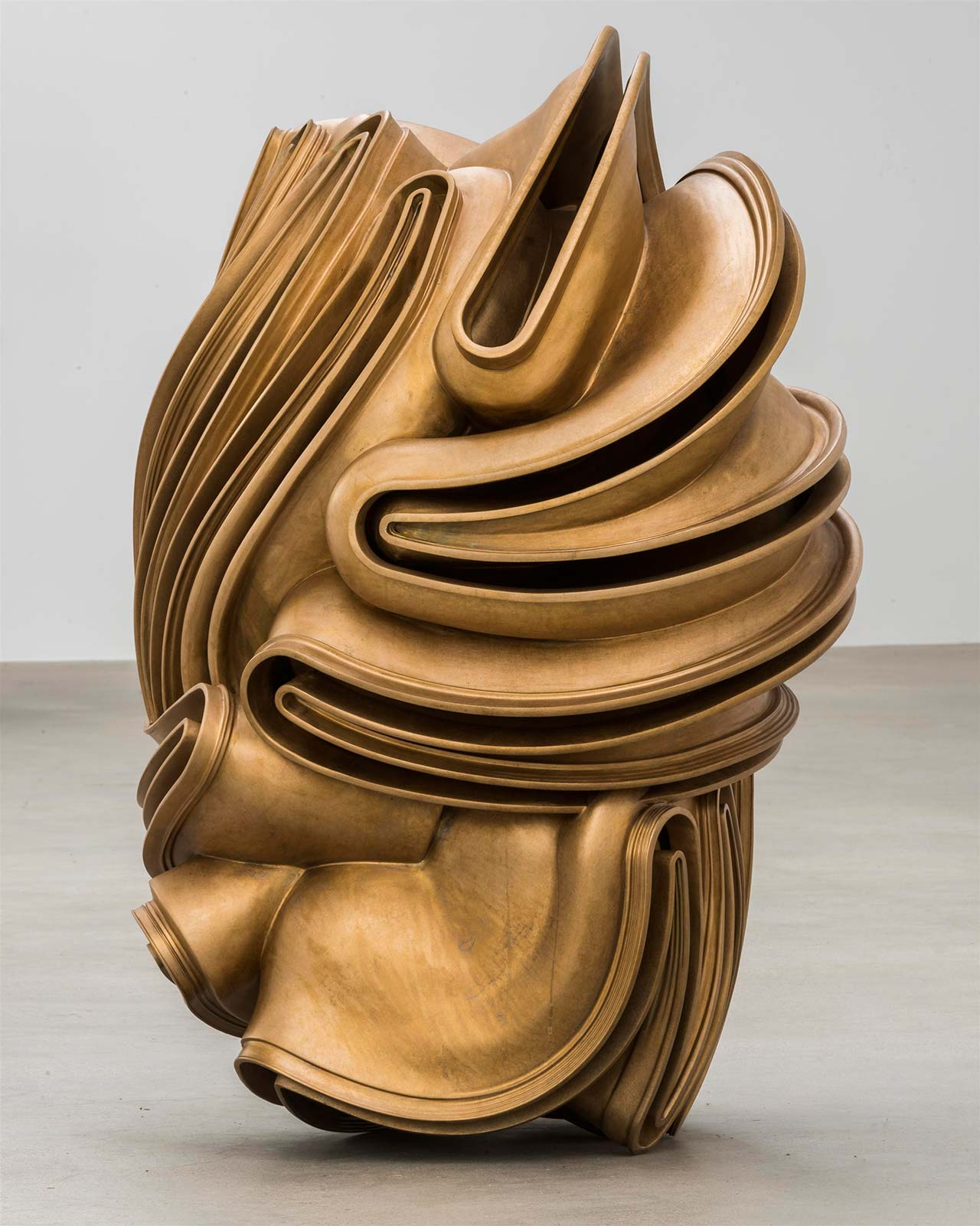 Tony Cragg, Foreign Body, 2015. Bronze, 120 x 106 x 76cm. Photo by Charles Duprat. © VG Bild-Kunst Bonn 2016.