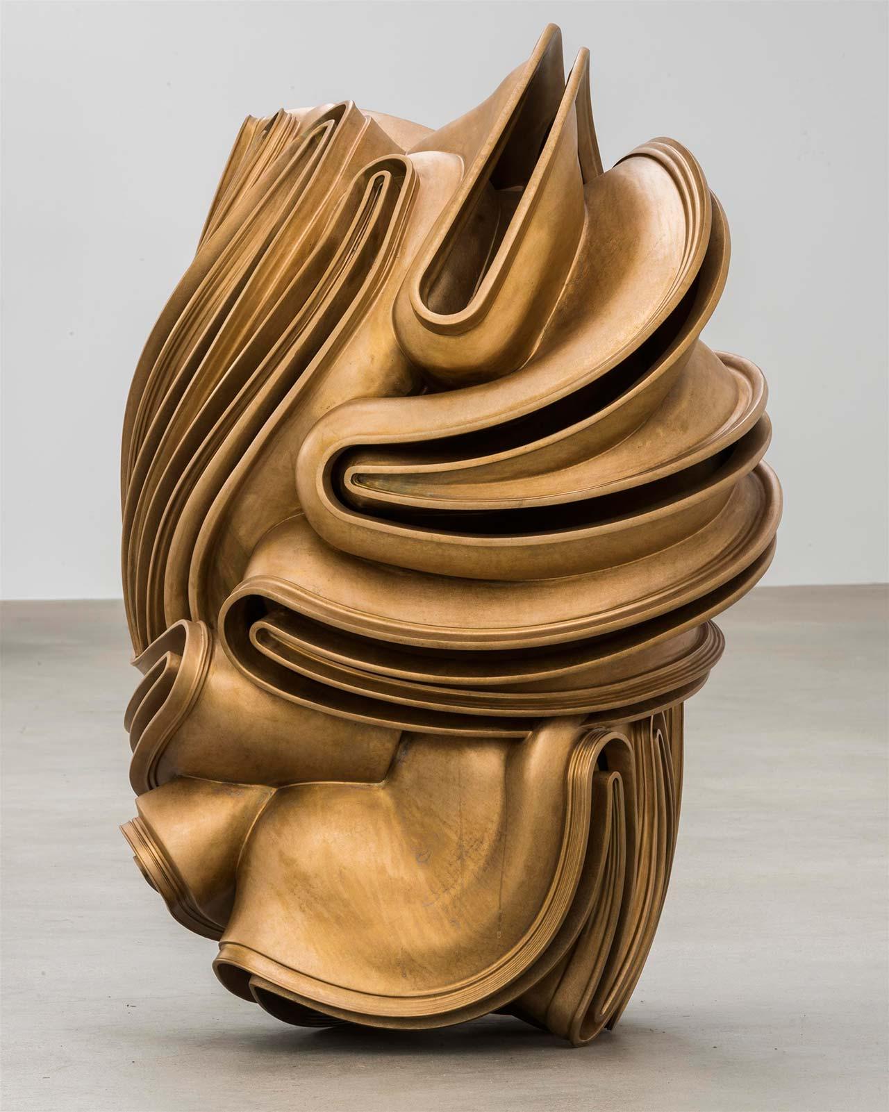 Tony Cragg, Foreign Body, 2015.Bronze,120 x 106 x 76cm. Photo byCharles Duprat.© VG Bild-Kunst Bonn 2016.