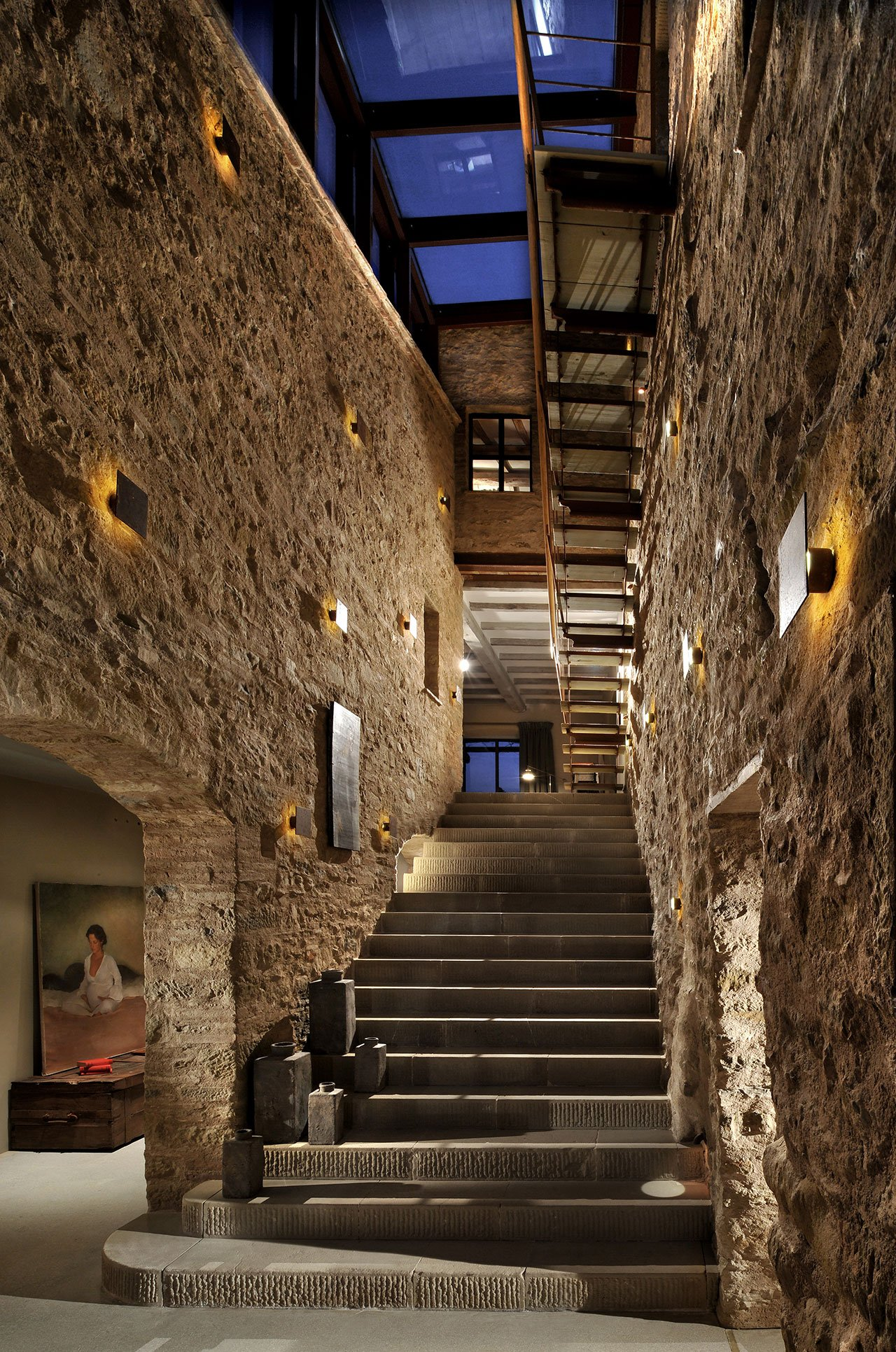 Castello di Reschio - Interiors. Photo © Reschio estate.