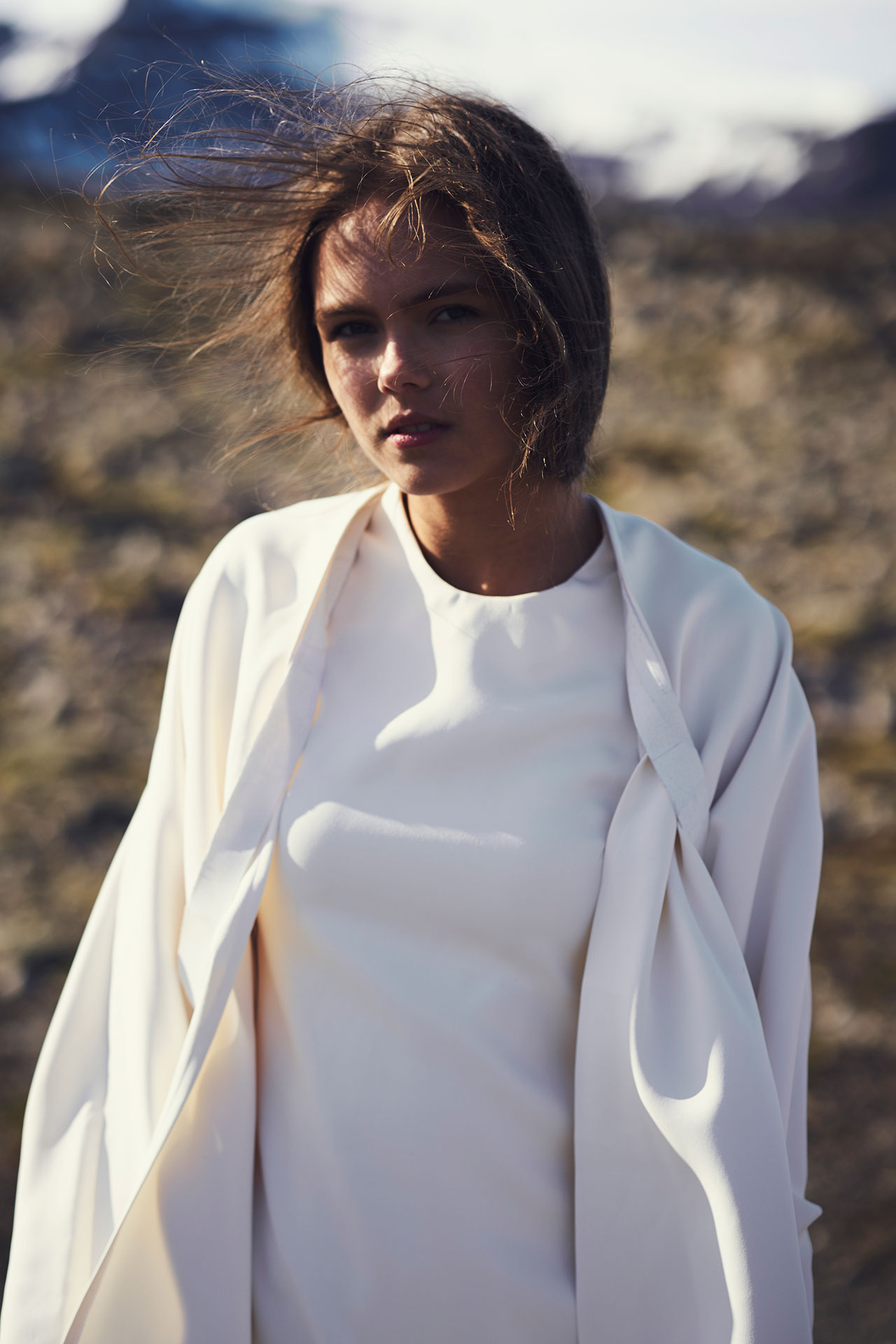 Félicie Eymard, Dress Coat, from Metamorphosis Collection. Photo by Julien Hayard.