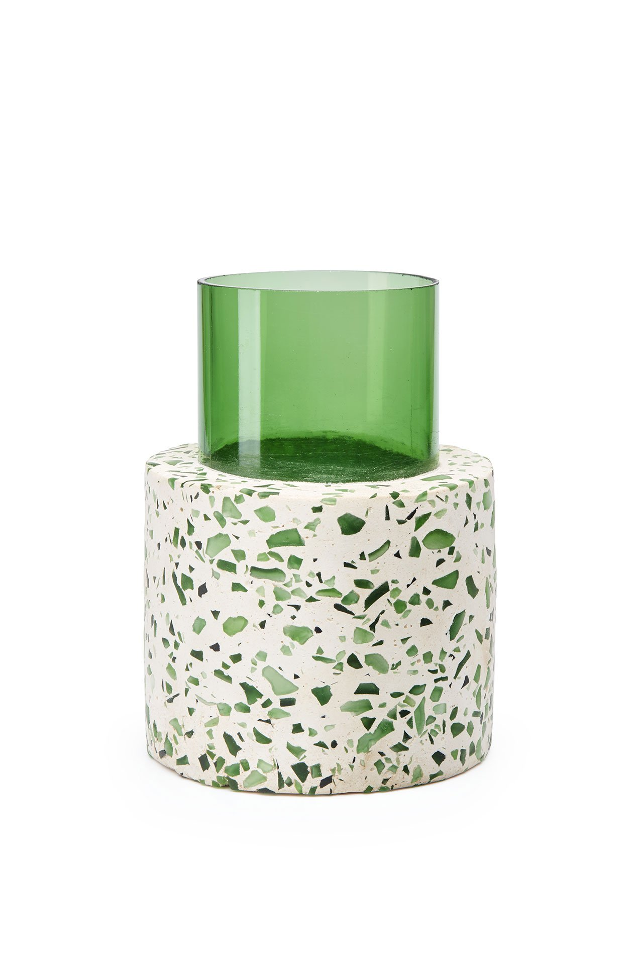 FLOWER | BLOCK vase from Trending Terrazzo collection by Bottle-up.