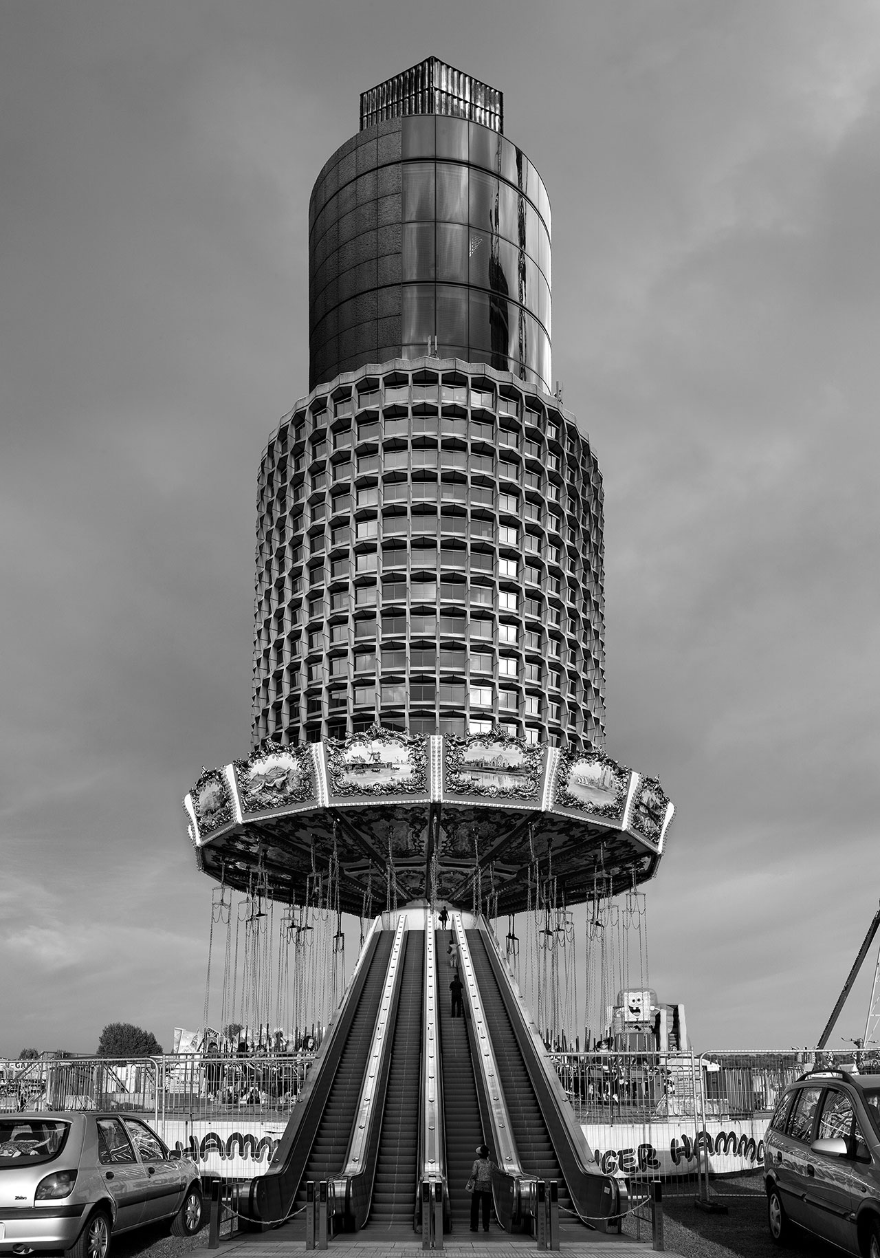 Beomsik Won,Archisculpture 028, 2014. Archival pigment print, 70x49 or 100x70 or 142x100cm.