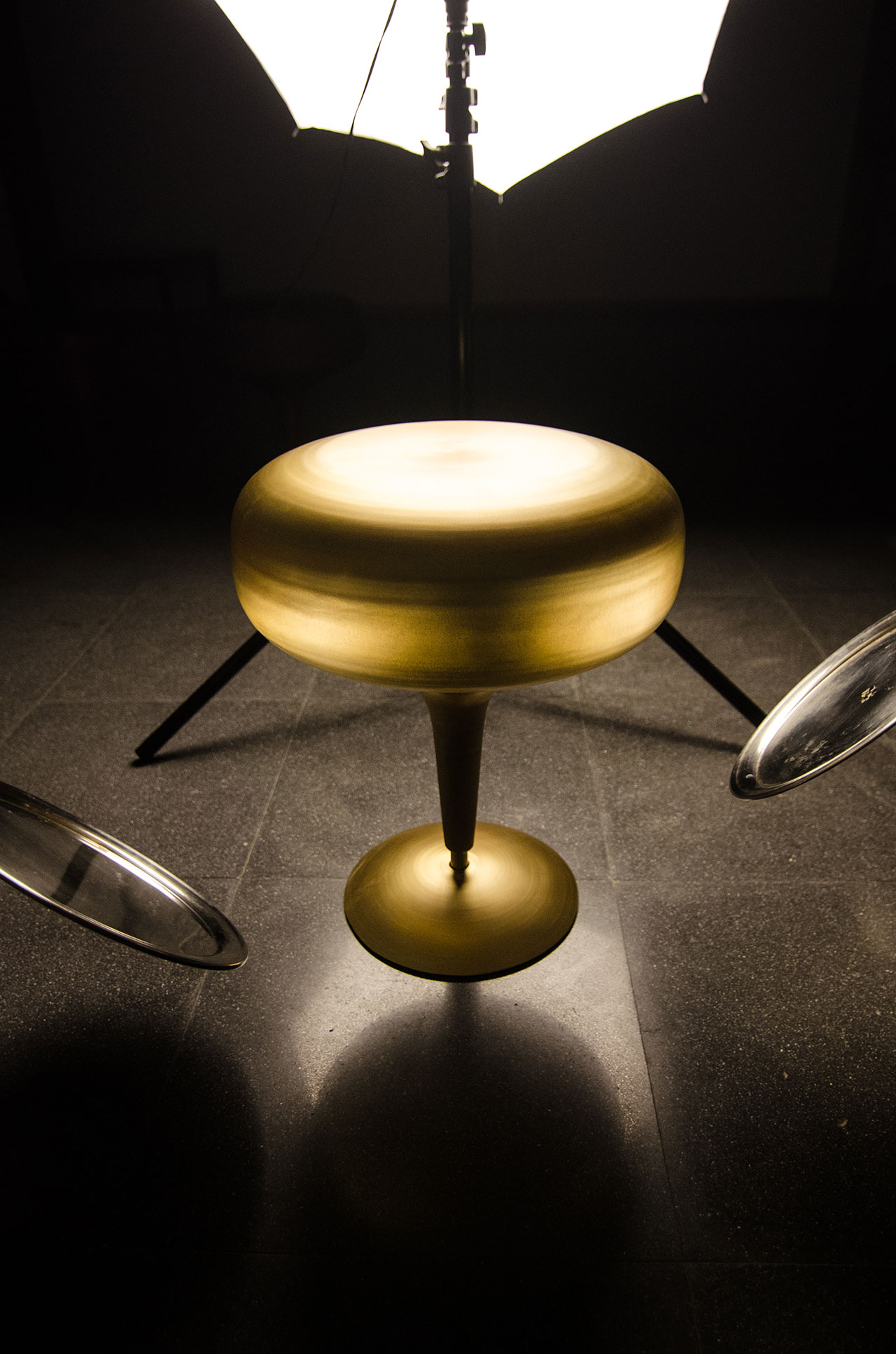 Lattoo stool by Coalesce Design Studio. Photo courtesy Design Days Dubai.
