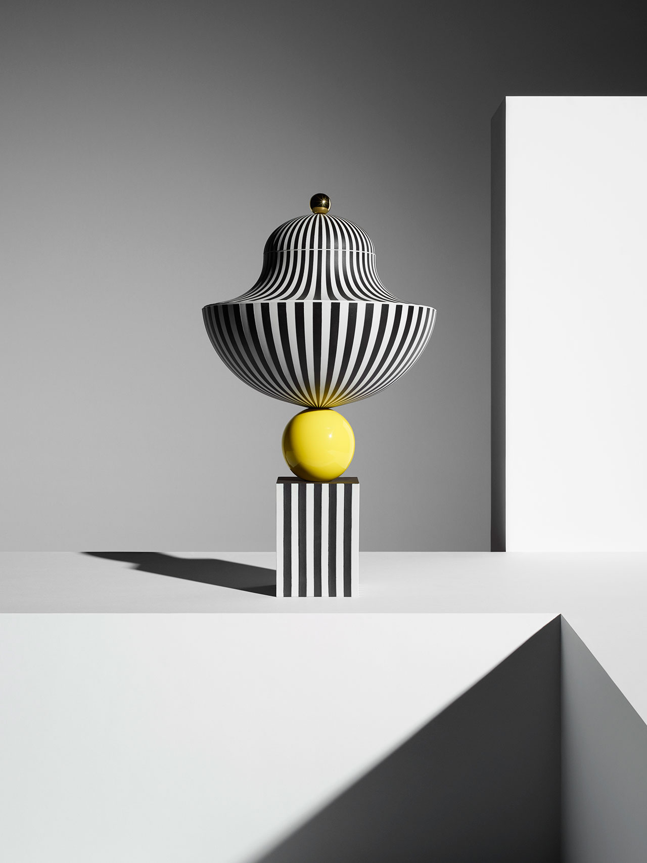 Wedgwood by Lee Broom, Bowl On Yellow Sphere. Photo by Michael Bodiam.