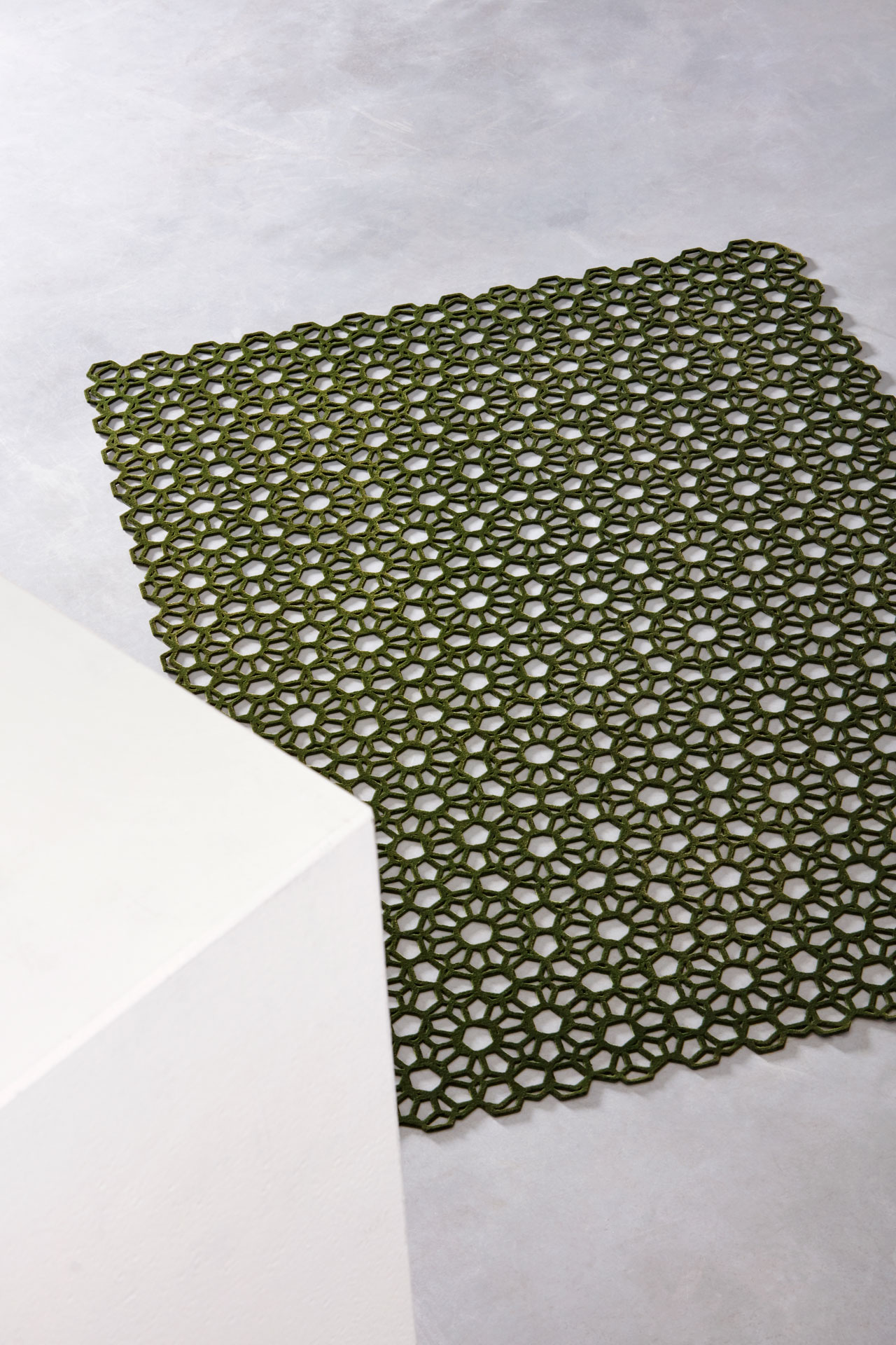 3D printed Open Rugs series by Studio Plott. Photo by Ronald Smits.