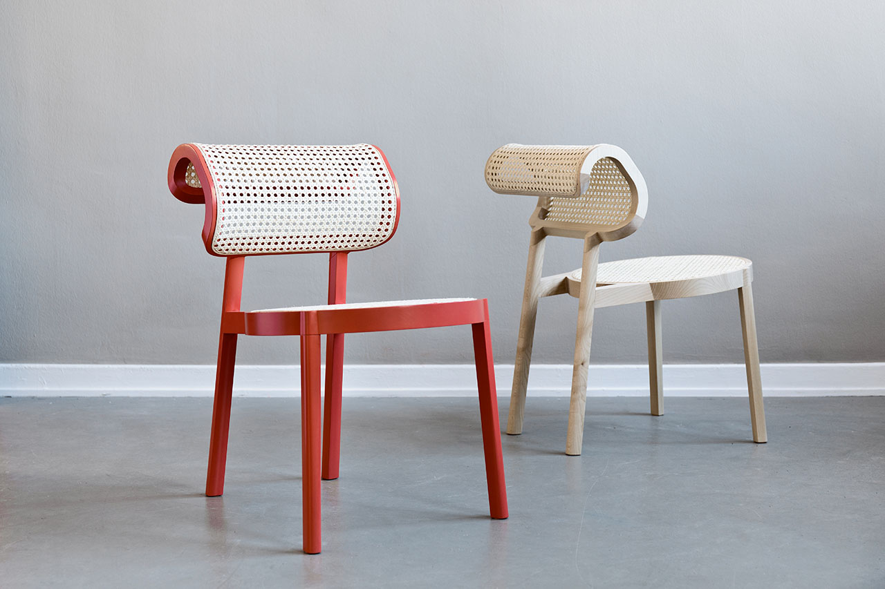 ANDY chair by Florestan Schuberth & Janis Fromm (Studio Marfa). Photo © Studio Marfa.