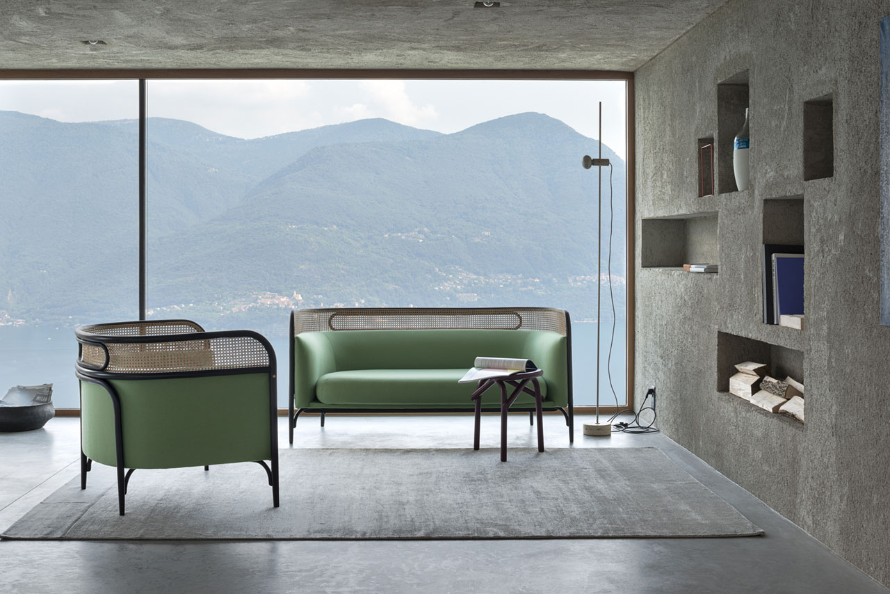 TARGA furniture collection by GamFratesi for Gebrüder Thonet Vienna.