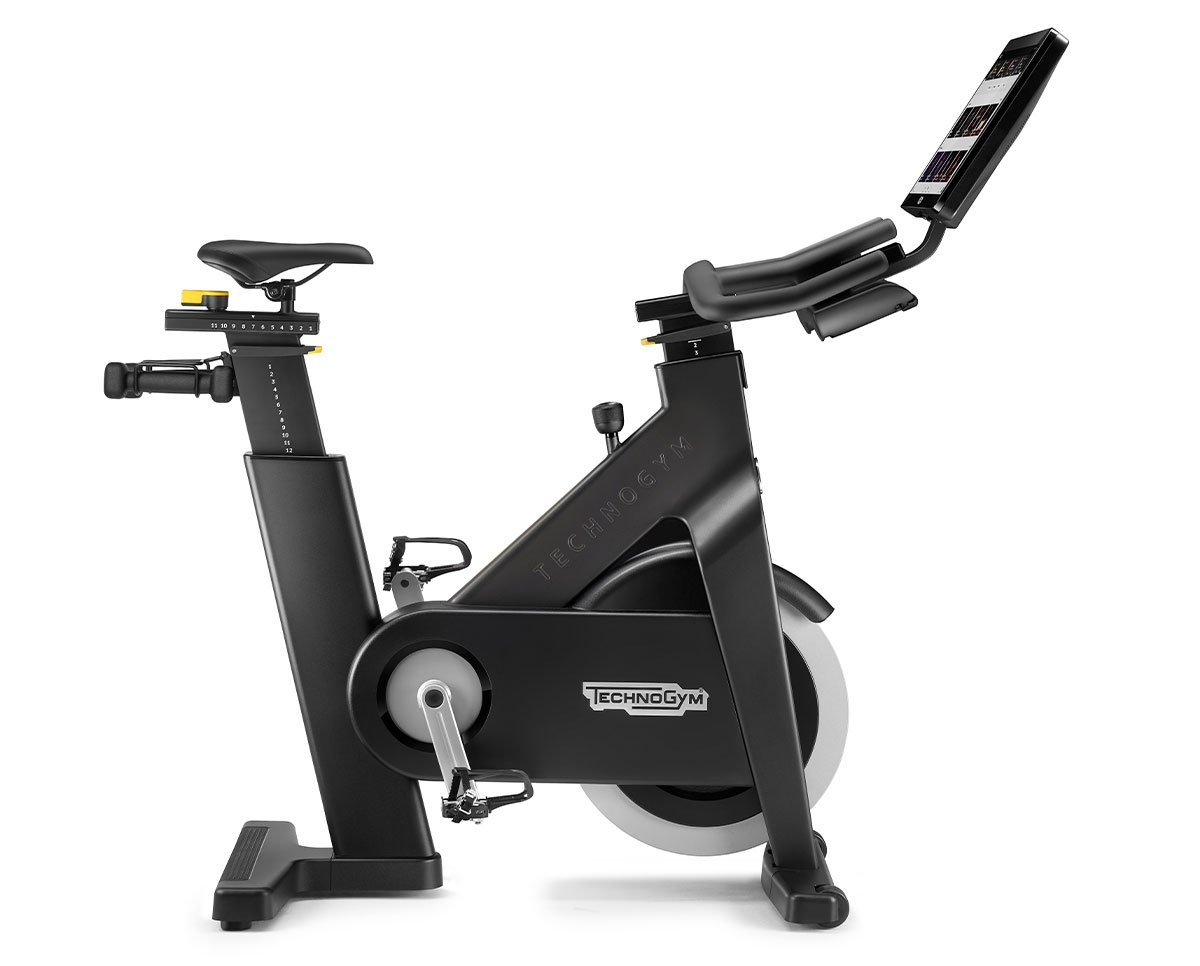 Technogym BikefeaturingLive and on-demand indoor cycling classes© Technogym.