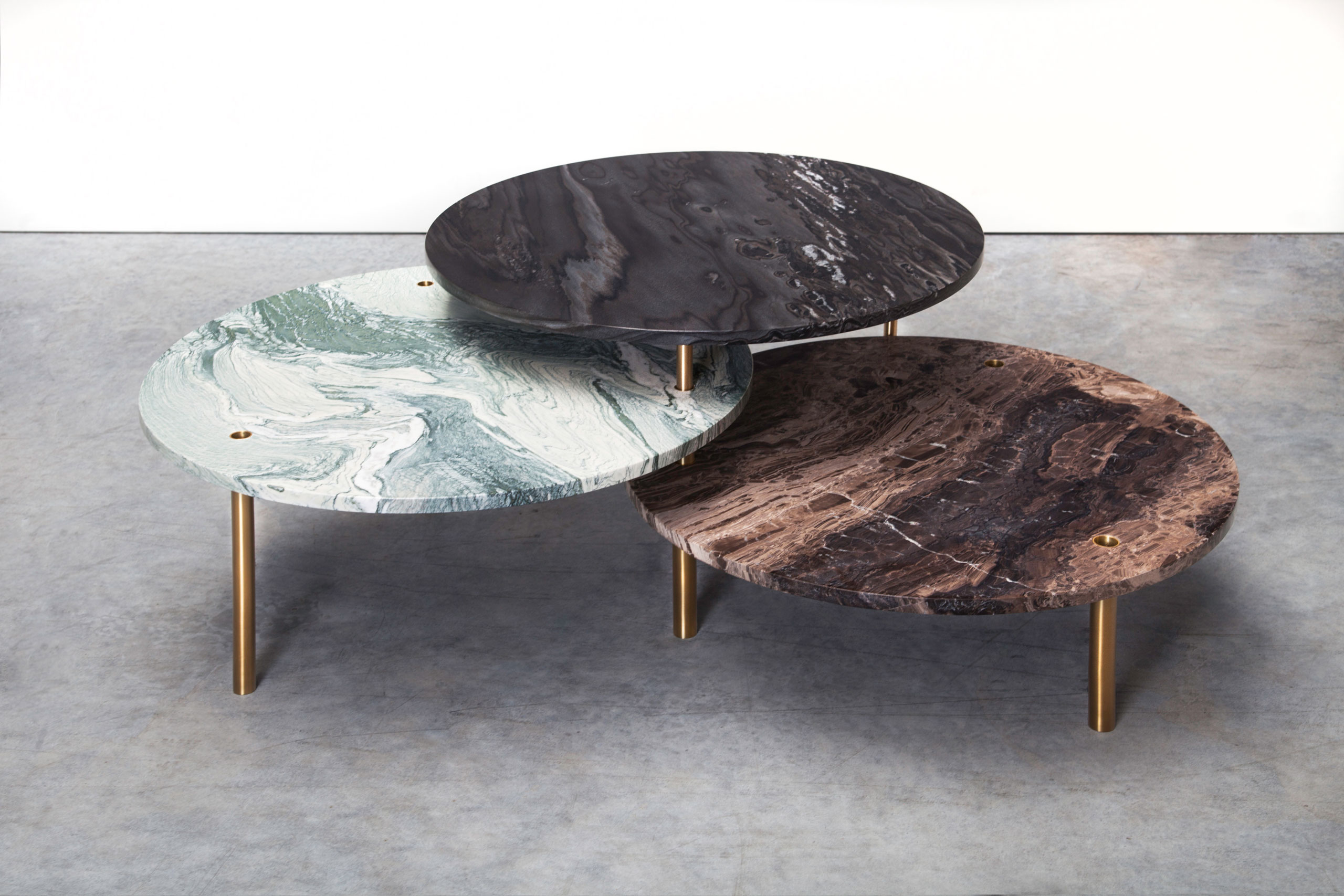 Tectonic Series low table by Maarten de Ceulaer for Nilufar Gallery. Photo by Teri Romkey.