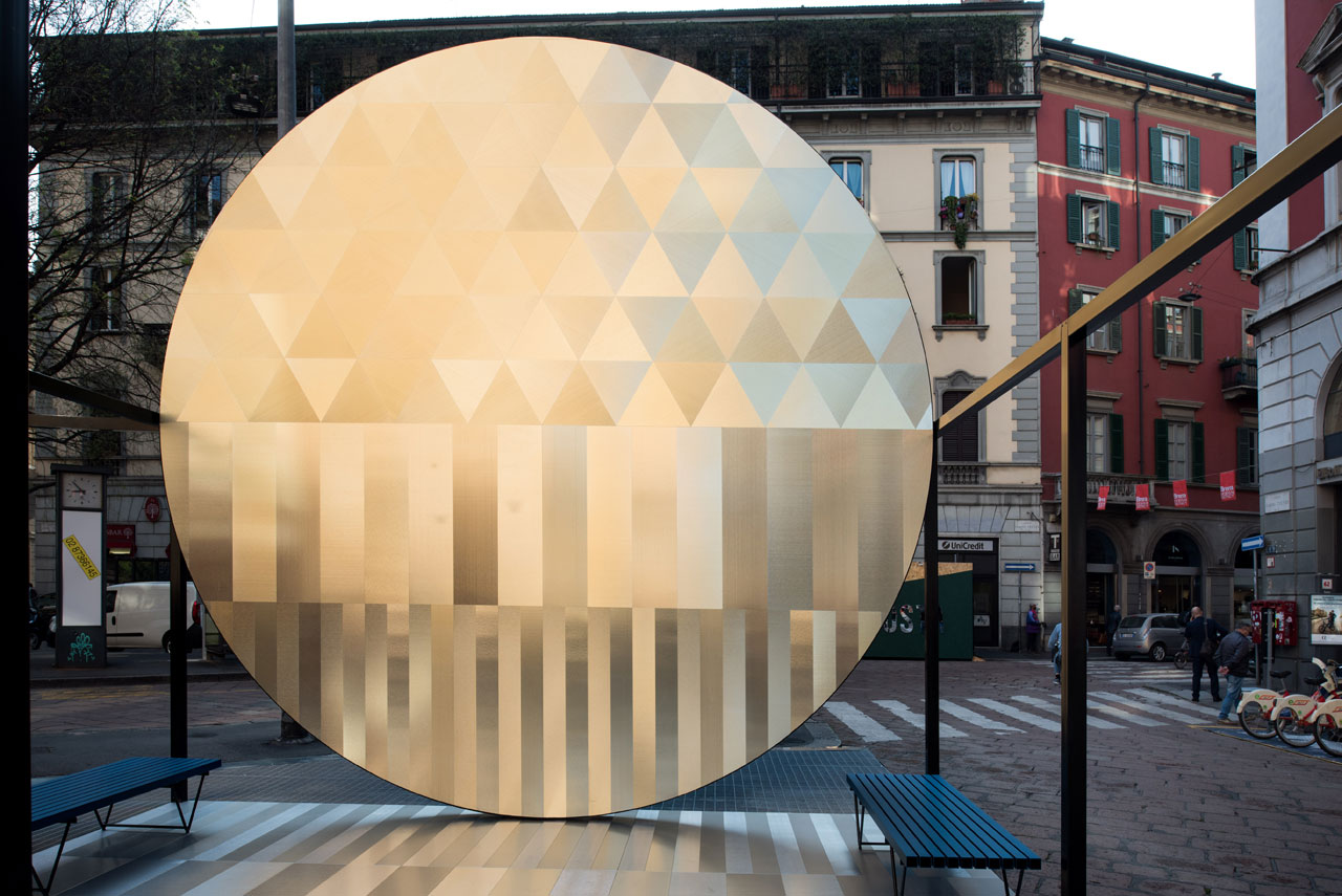 The Risisng Sun by Francesco Librizzi for DVNE (Rota Lab). Photo by Alberto Moncada.